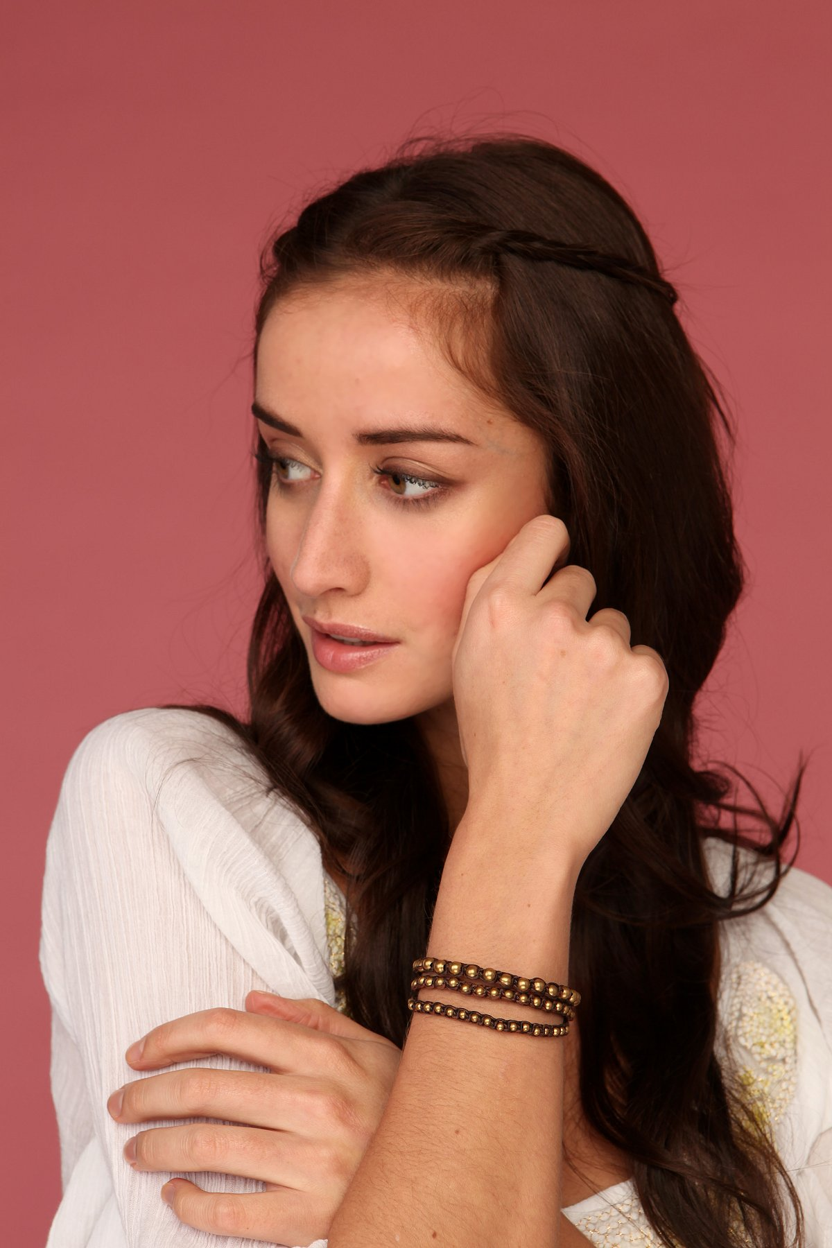 Woven Slice Bracelet