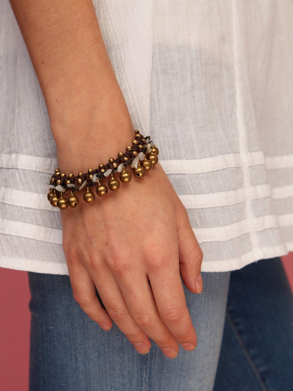 Weaving Stone Bracelet