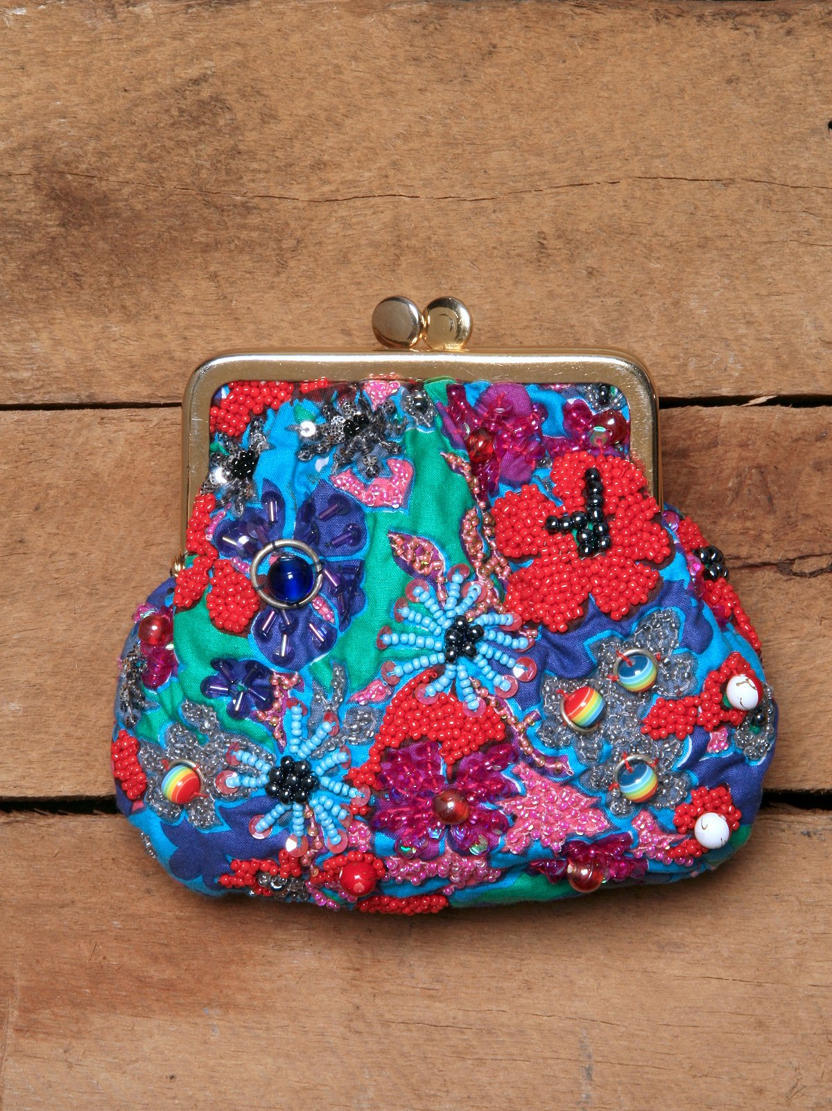 Pretty In Beads Coin Purse