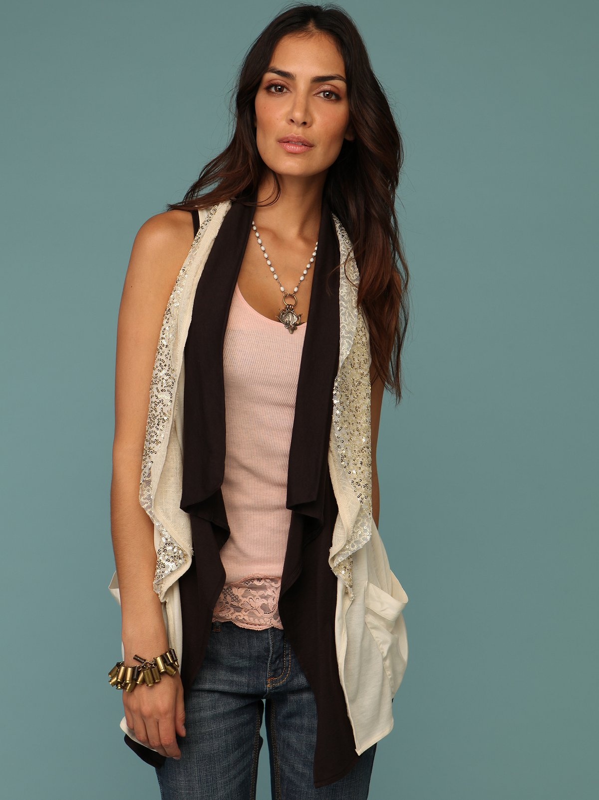 Carmel Sequin Vest