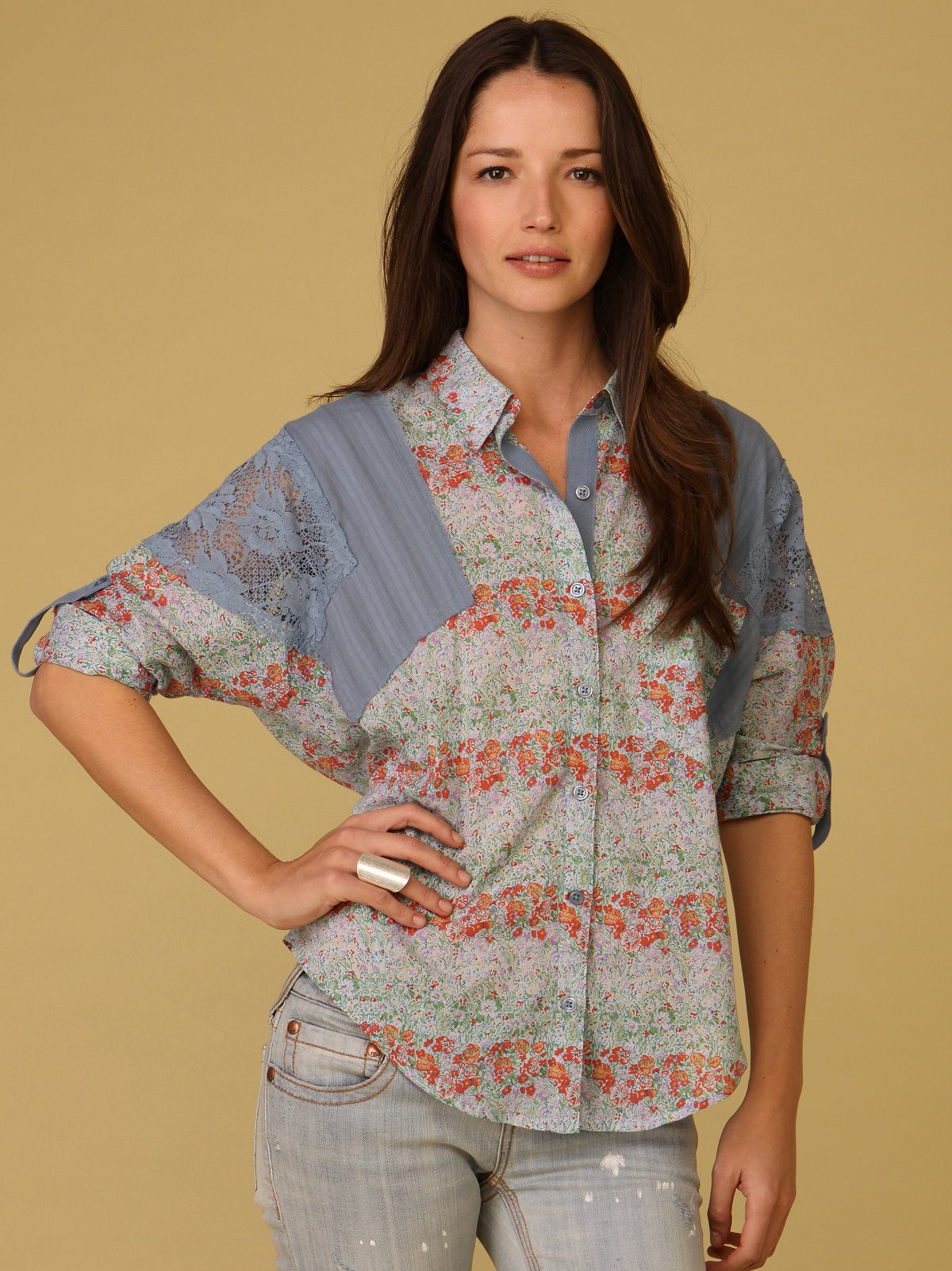Kerouac Button Down
