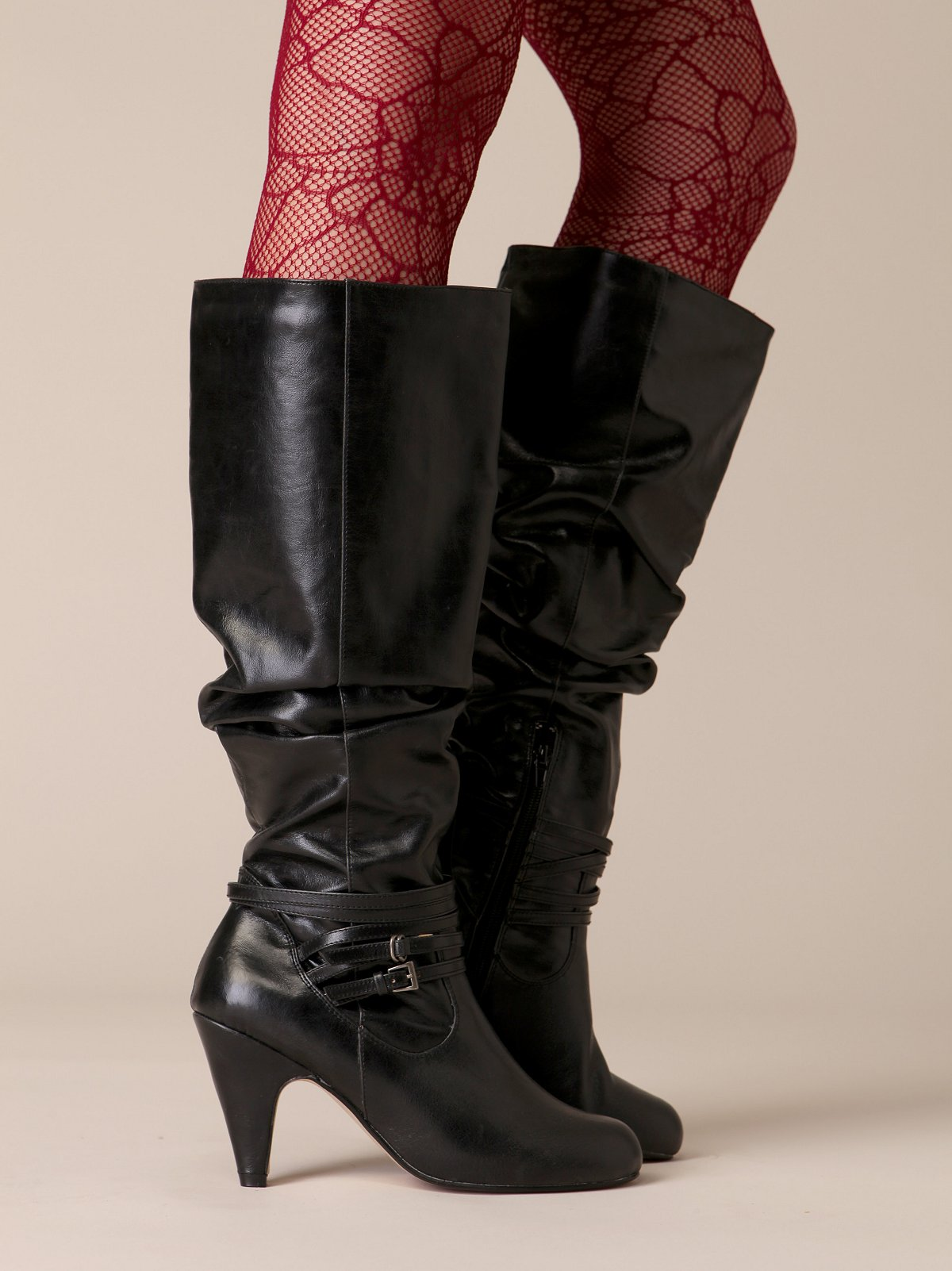 Scrunch Knee Hi Boot