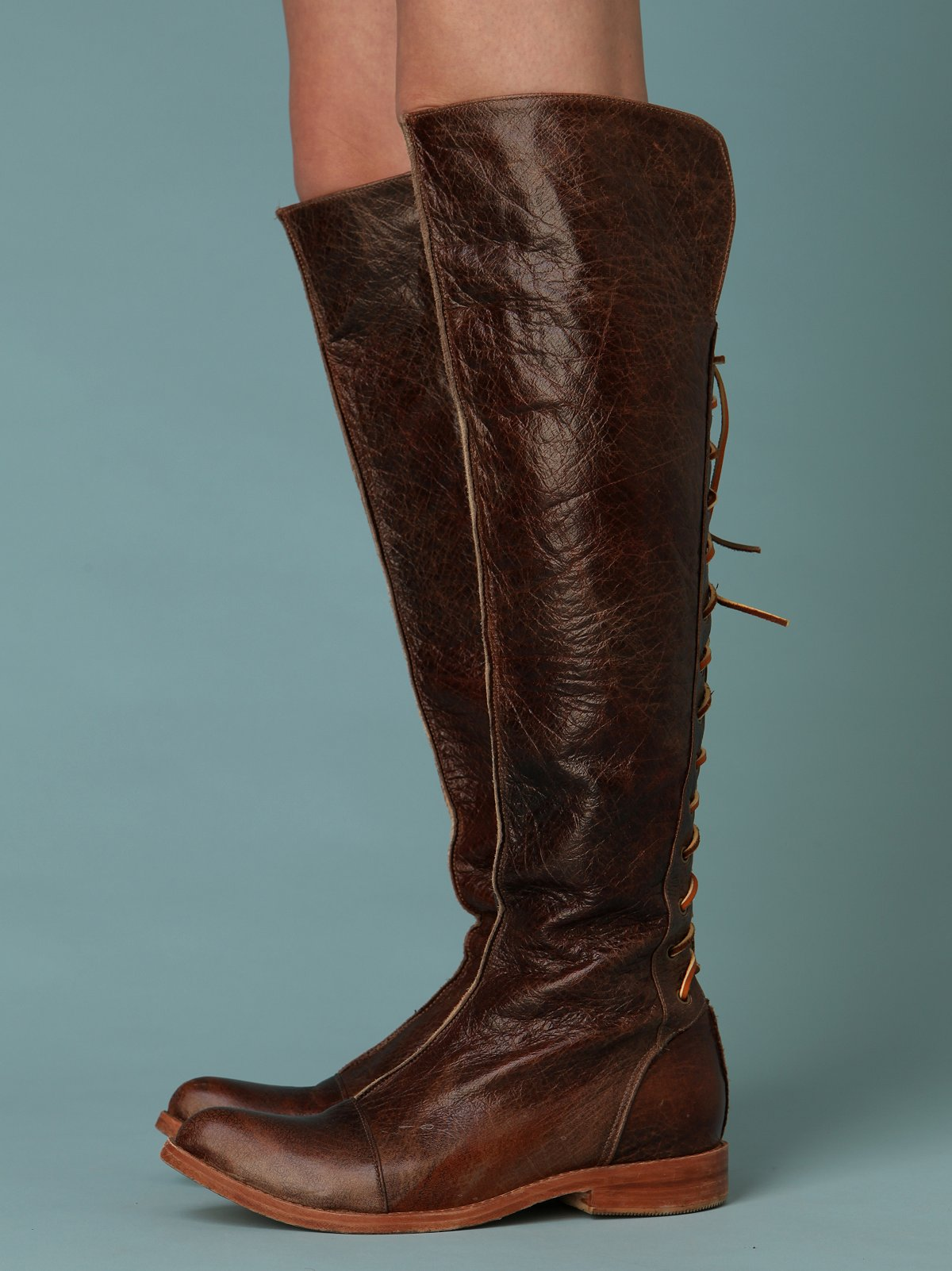 Laced Over The Knee Boot