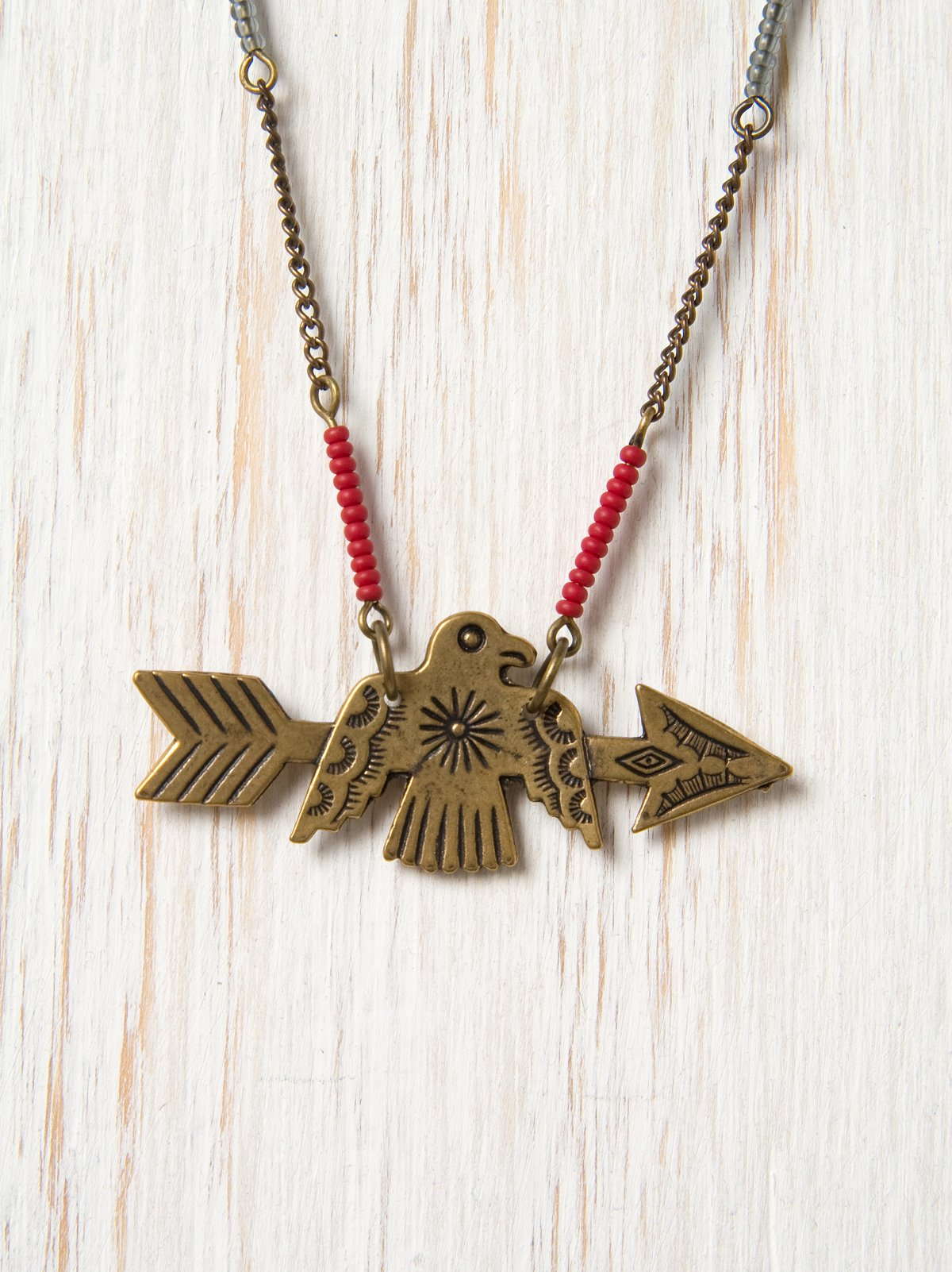Eagle Arrow Necklace