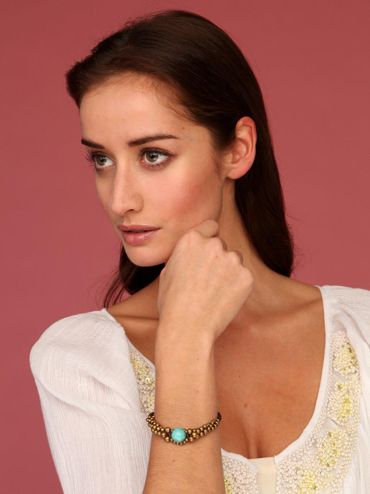 Turquoise Eye Bracelet