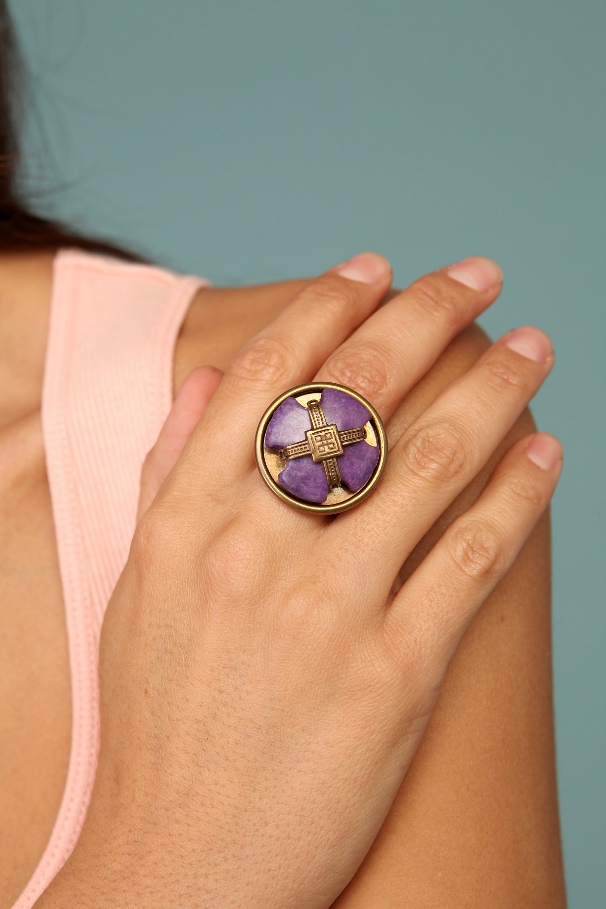 Marbled Purple Ring