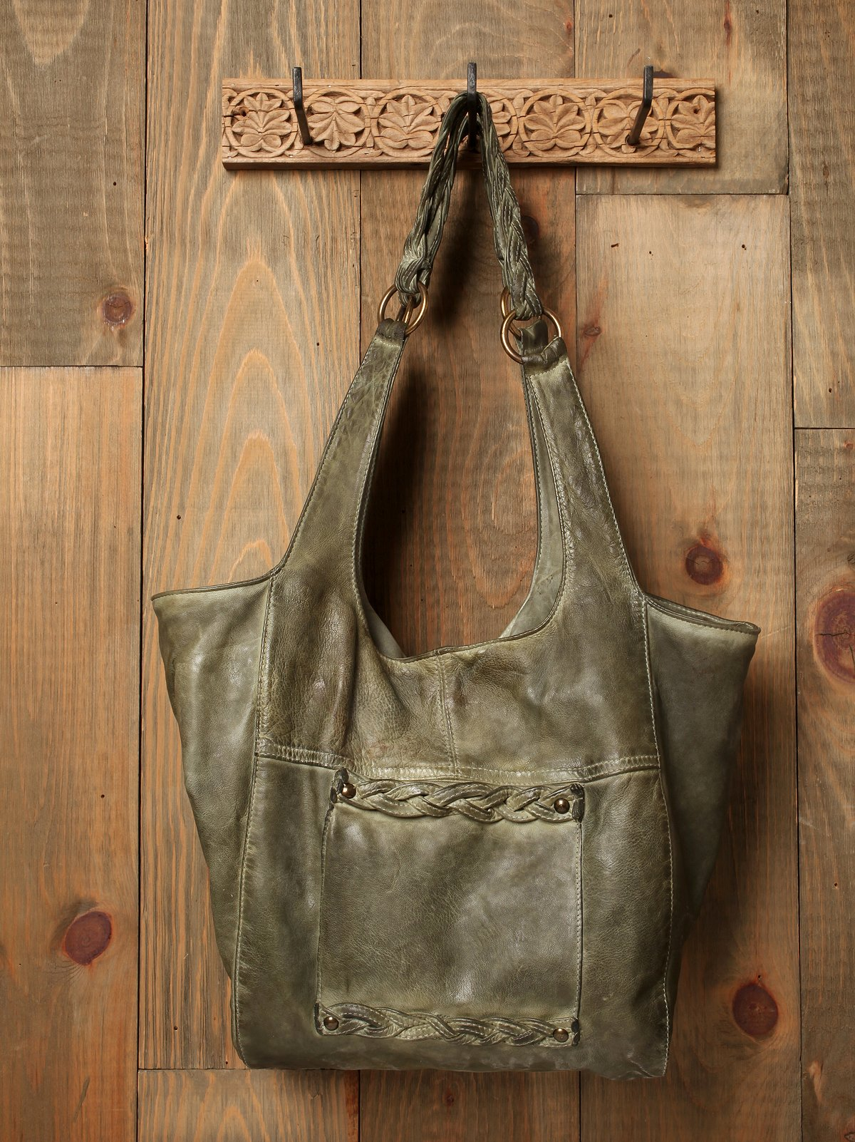 We The Free Blur Leather Franca Tote