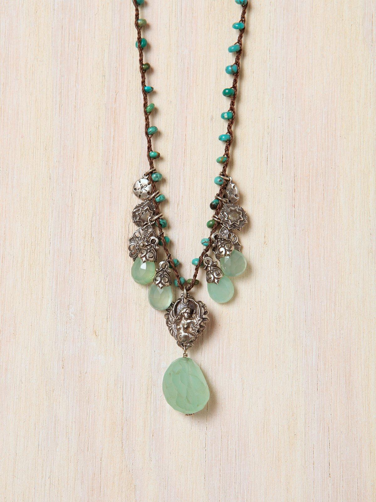 Vanda Turquoise Necklace
