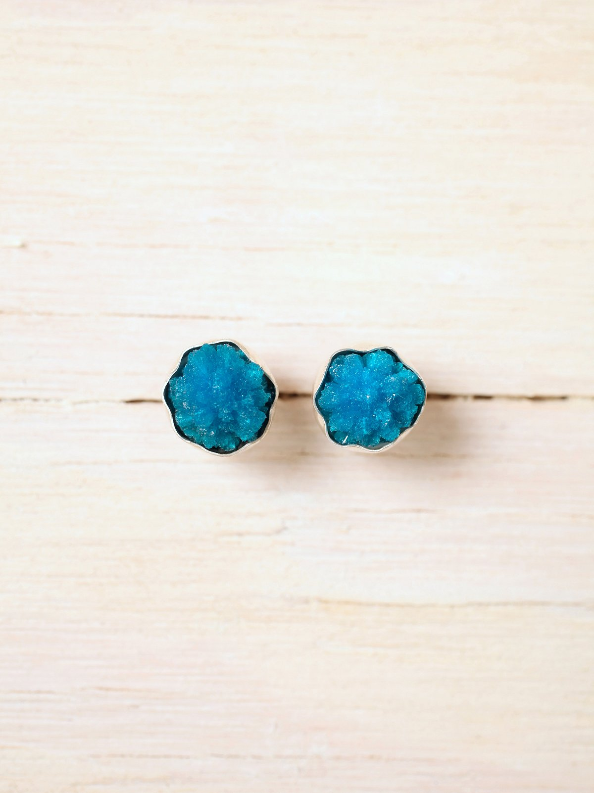 Blue Cave Earrings