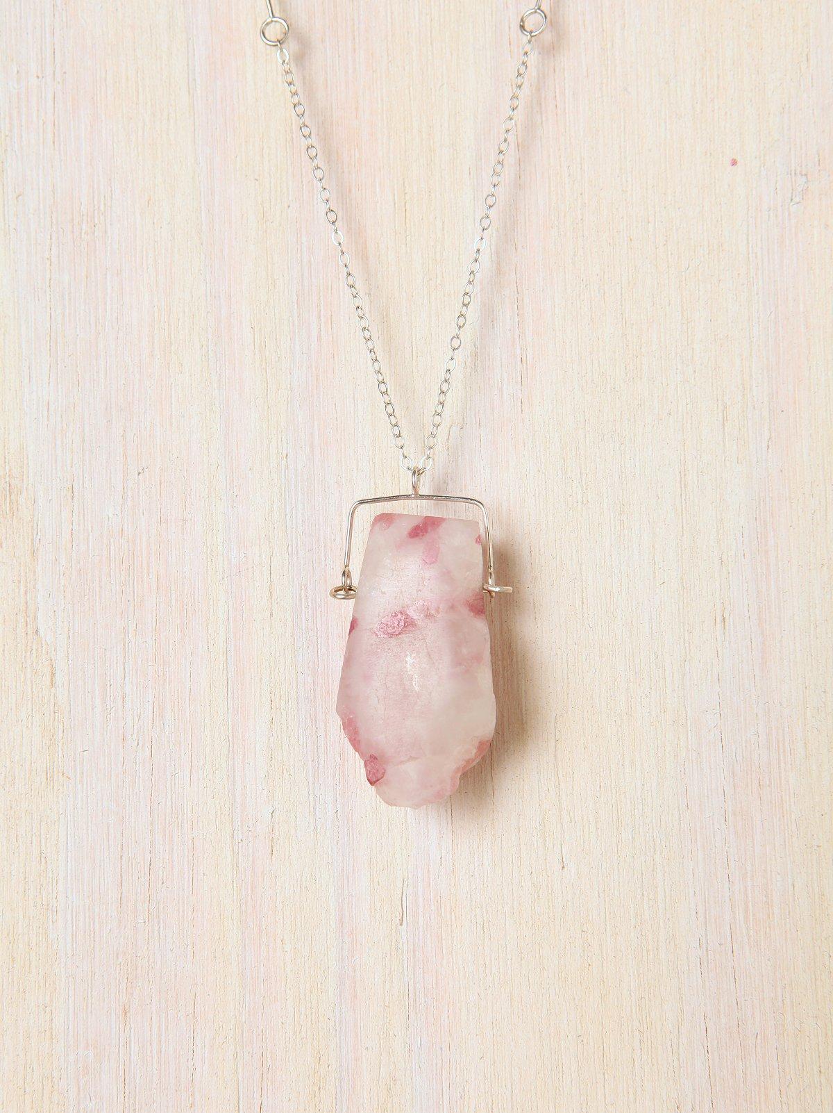 Tourmaline Quartz Necklace