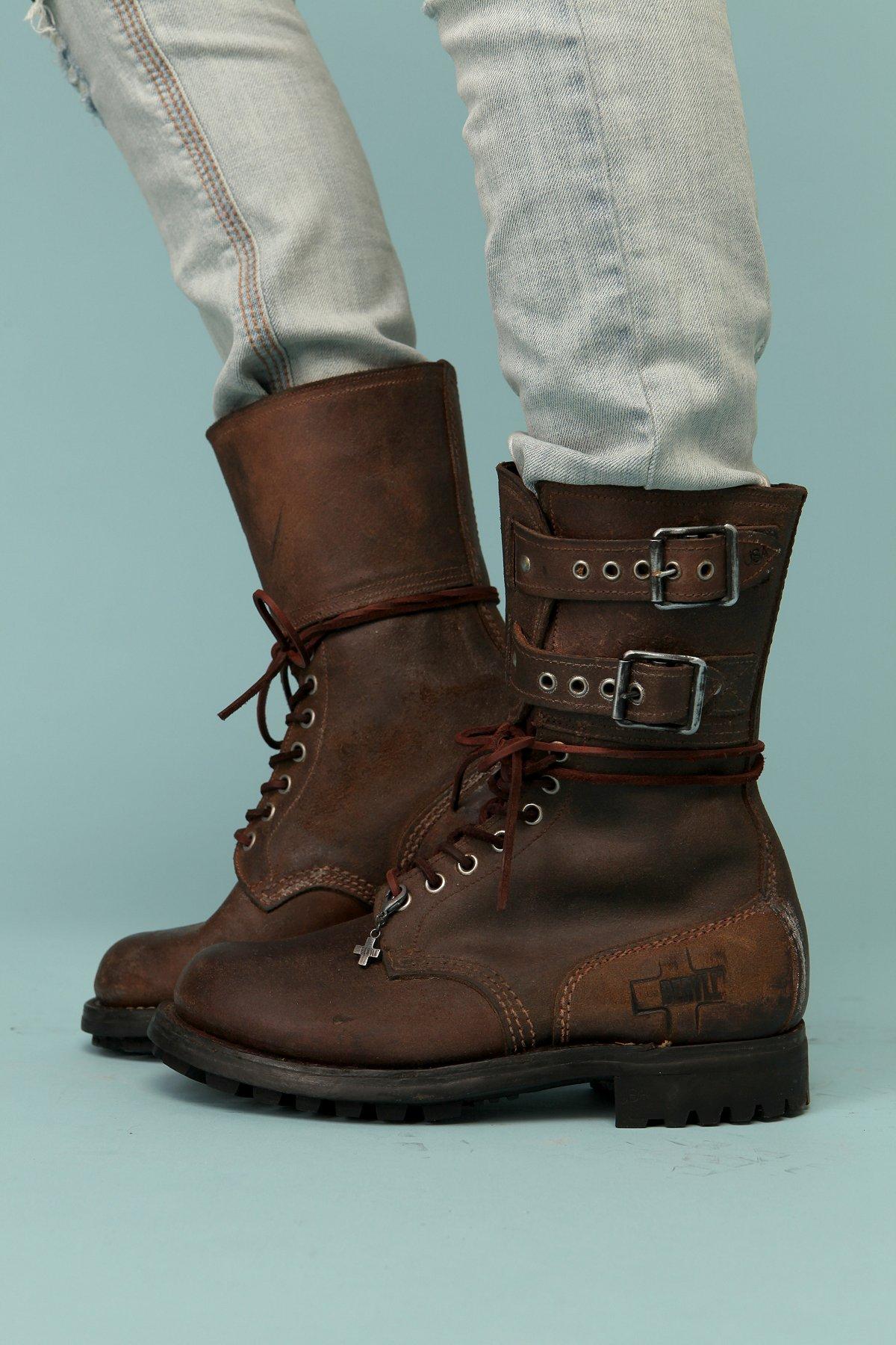Vintage Artisan Asphalt Boot