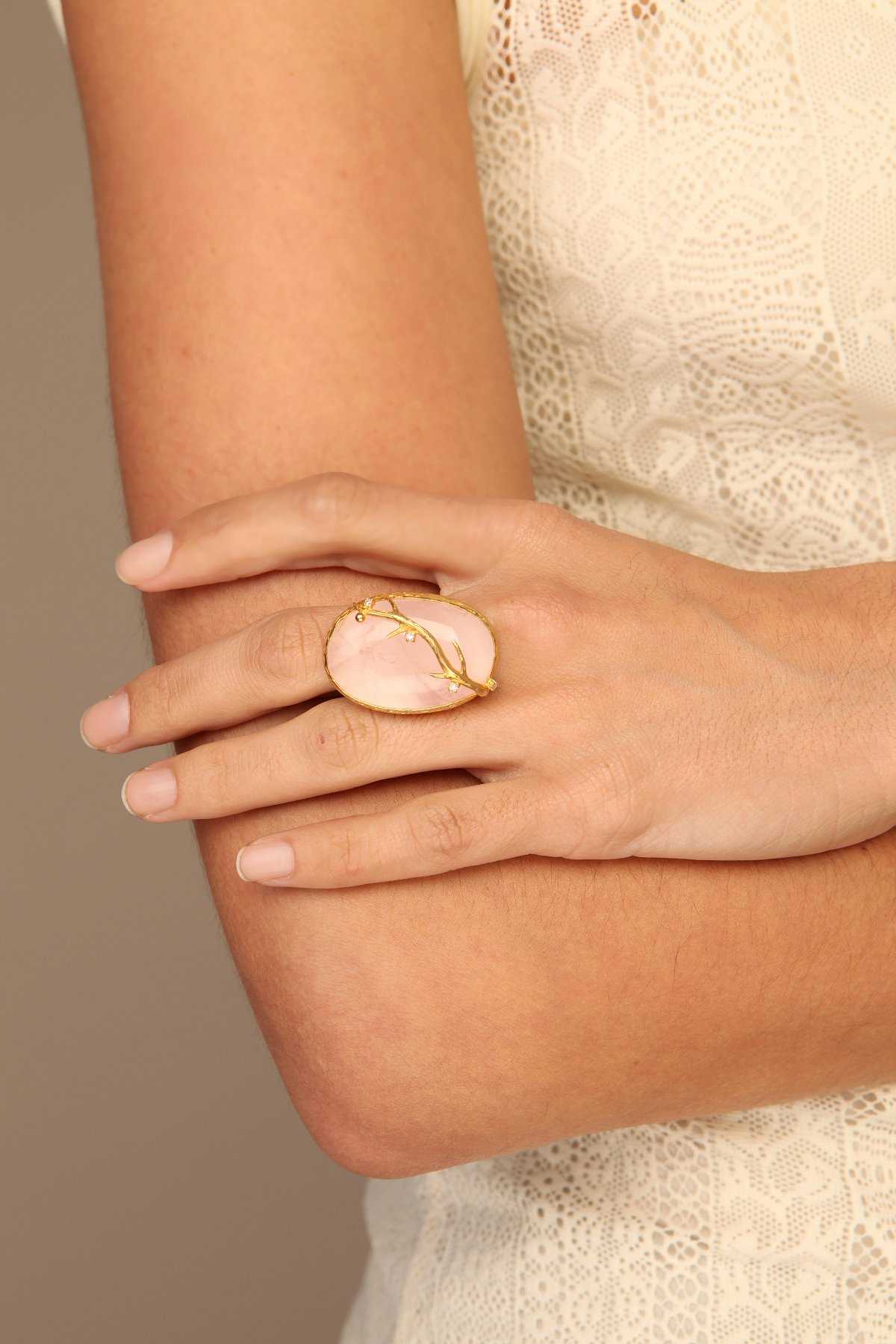 Pink Forest Ring