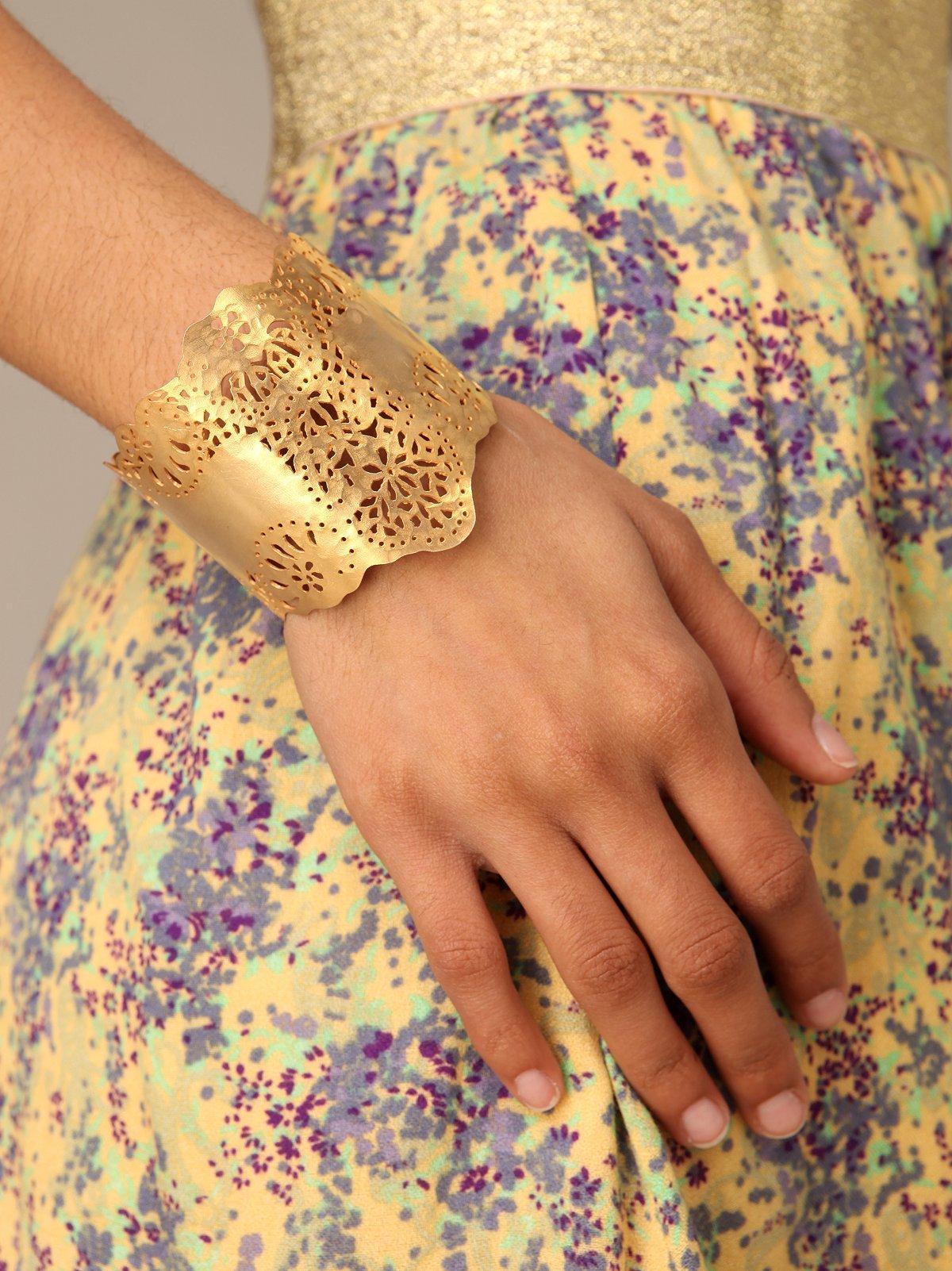 Golden Wide Cuff