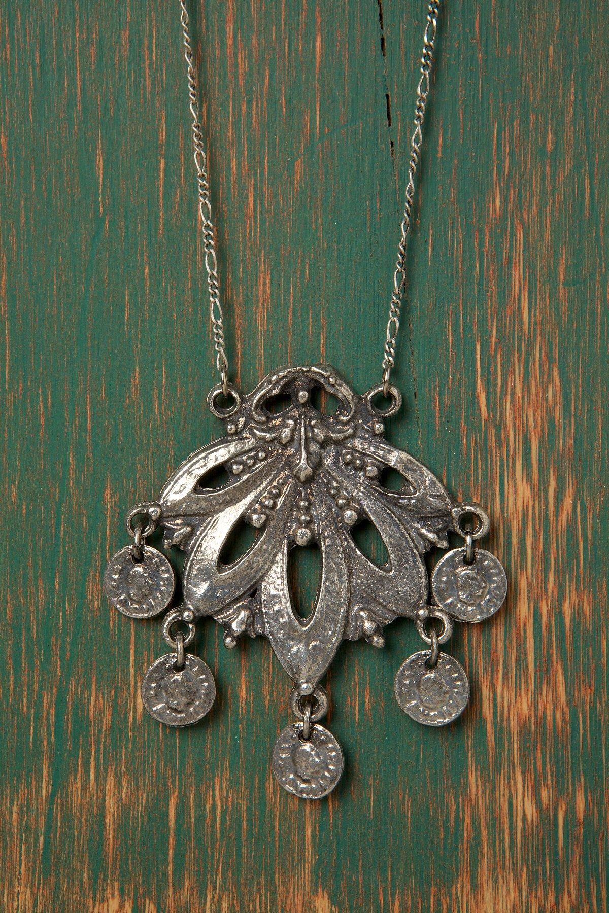 Ancient Fan Necklace