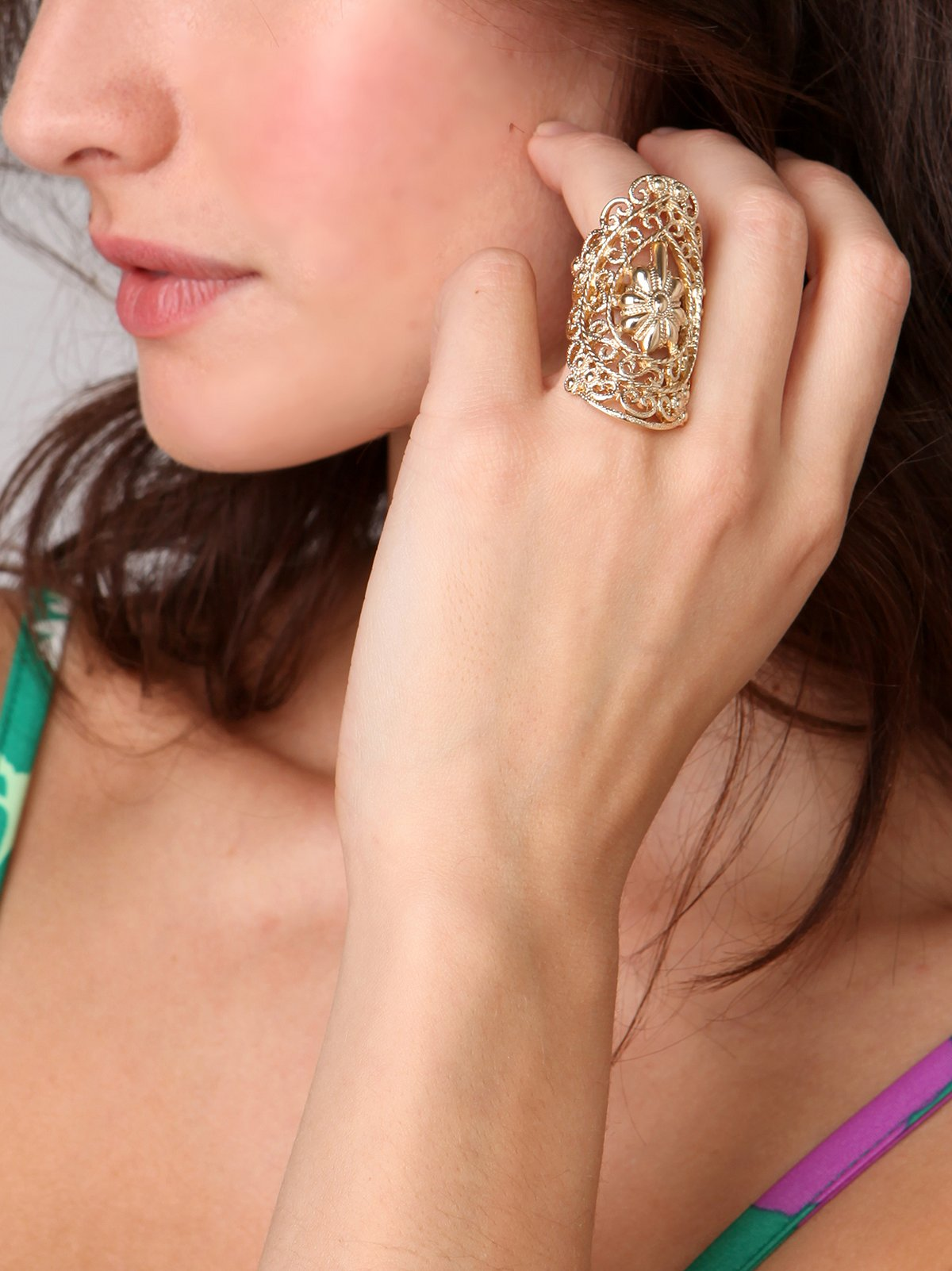 Long Gypsy Ring