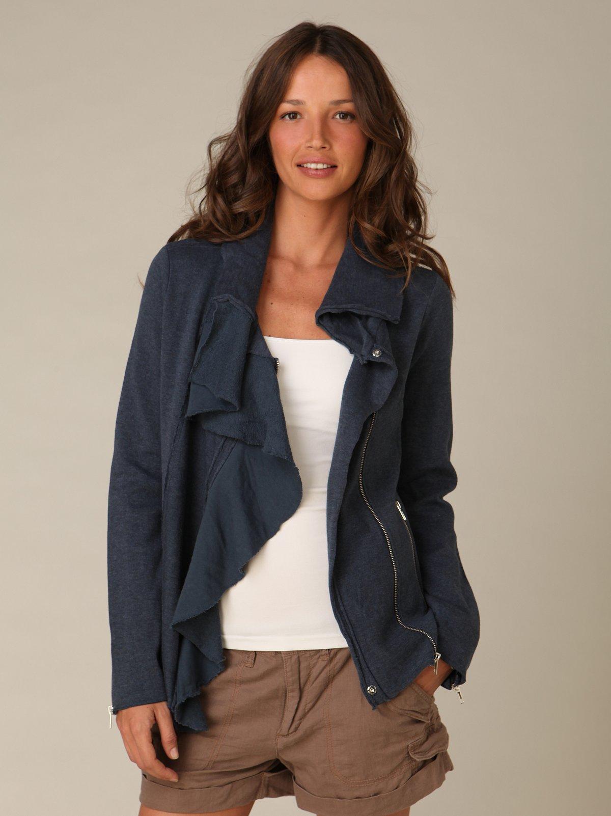 Scuba Ruffle Jacket