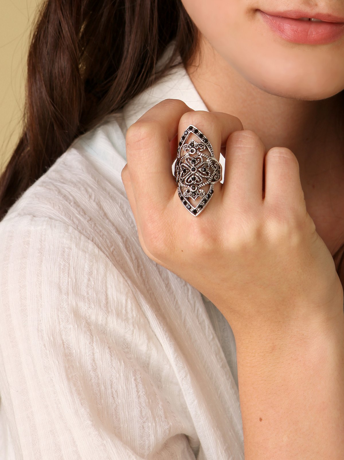 Long Medieval Ring