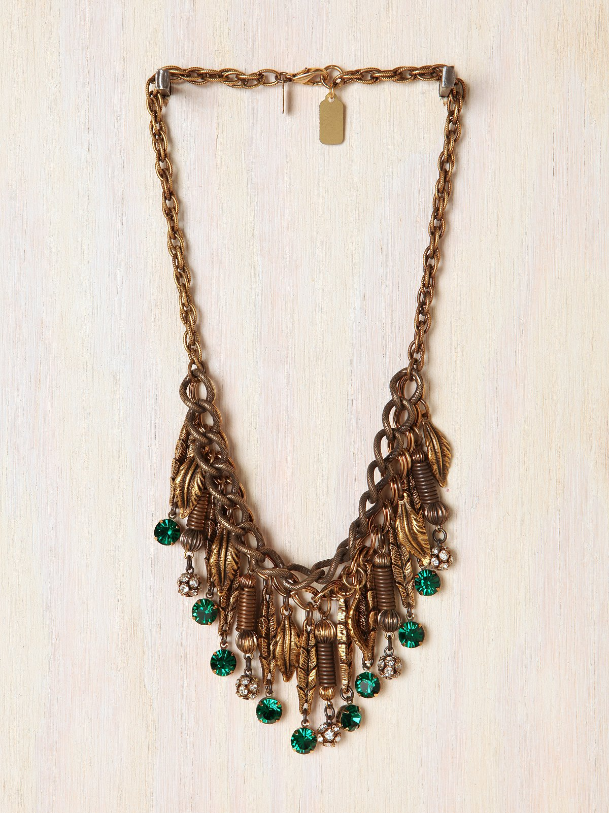 One Of A Kind Falling Leaves Necklace