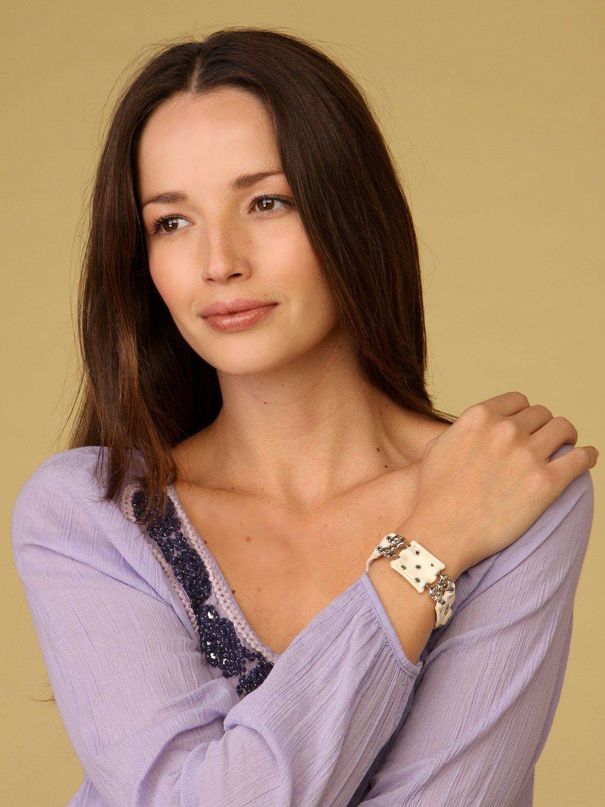 White Card Bracelet