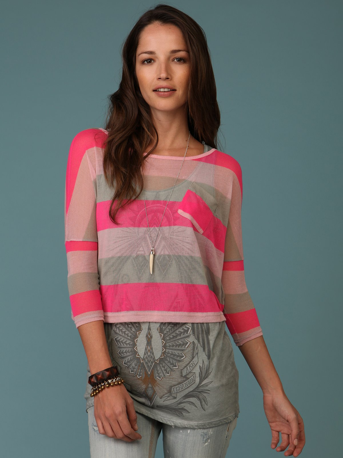 Decorated In Stripes Tee