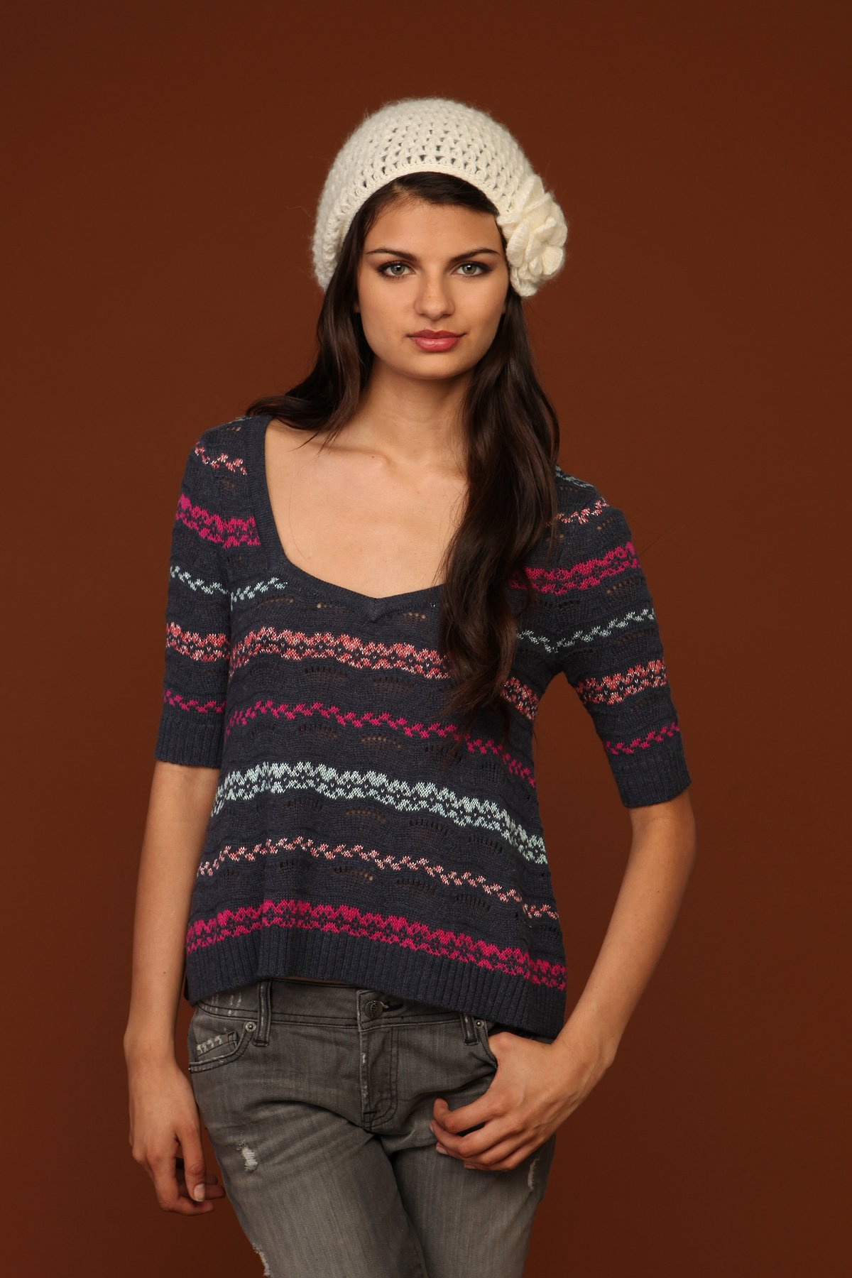 Fairisle Sweetheart Sweater