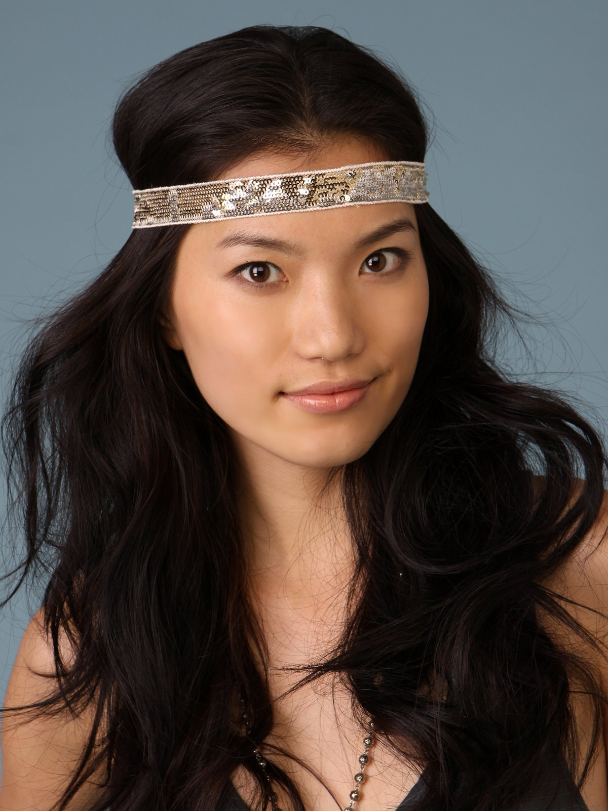 Sequin Wave Headband