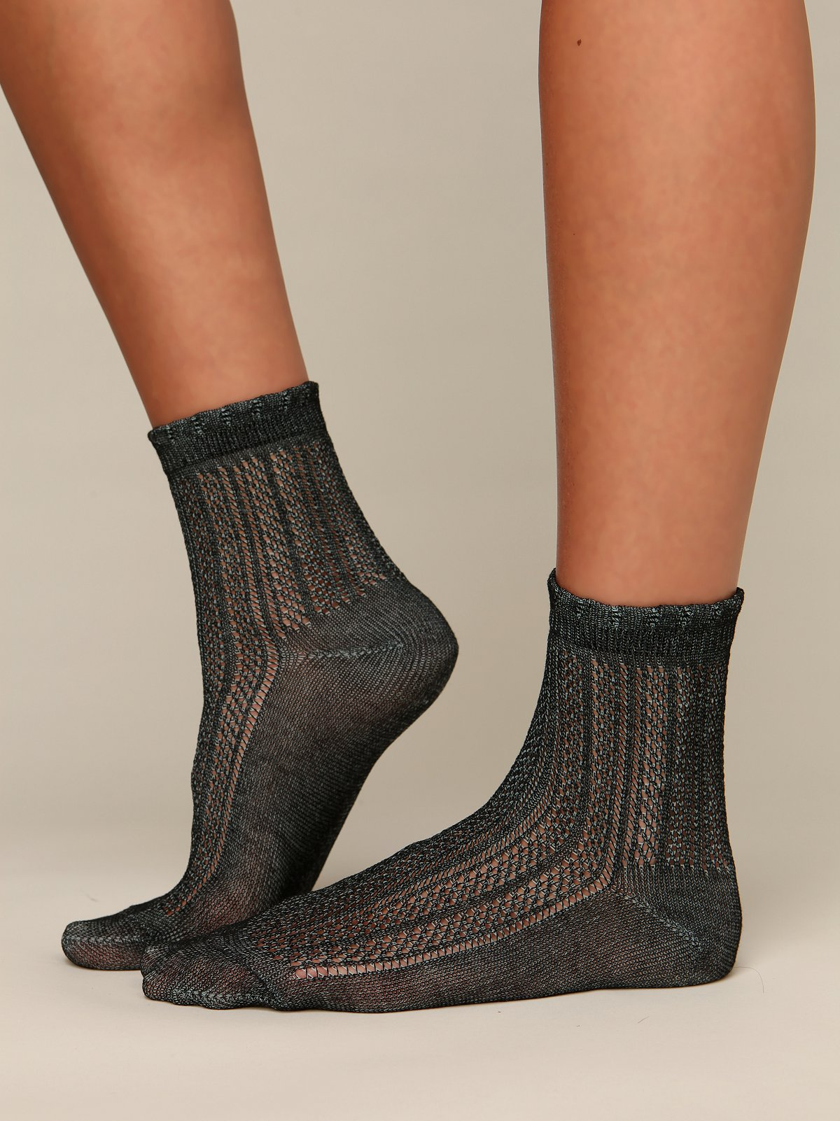 Pointelle Ankle Sock