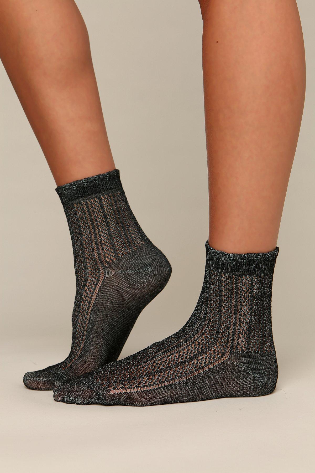 Pointelle Ankle Sock