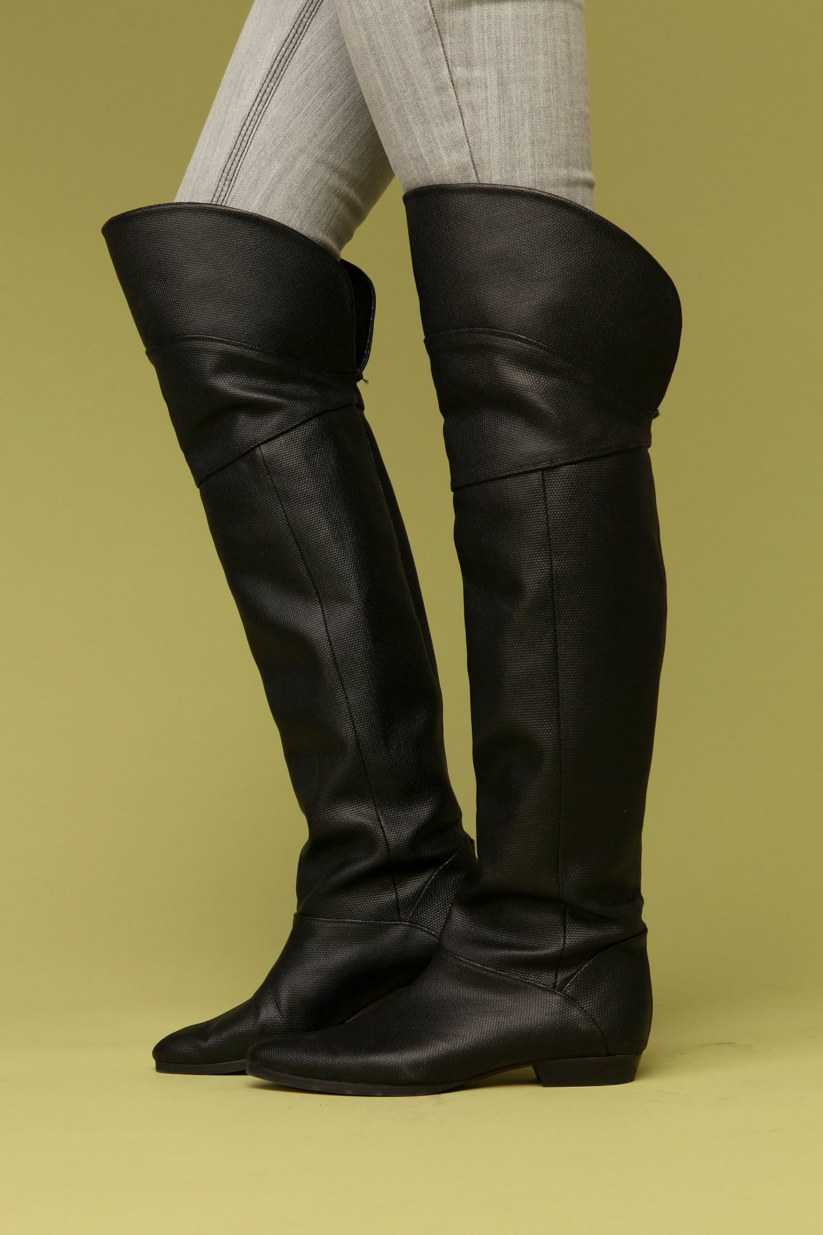 Seamed Over The Knee Boot