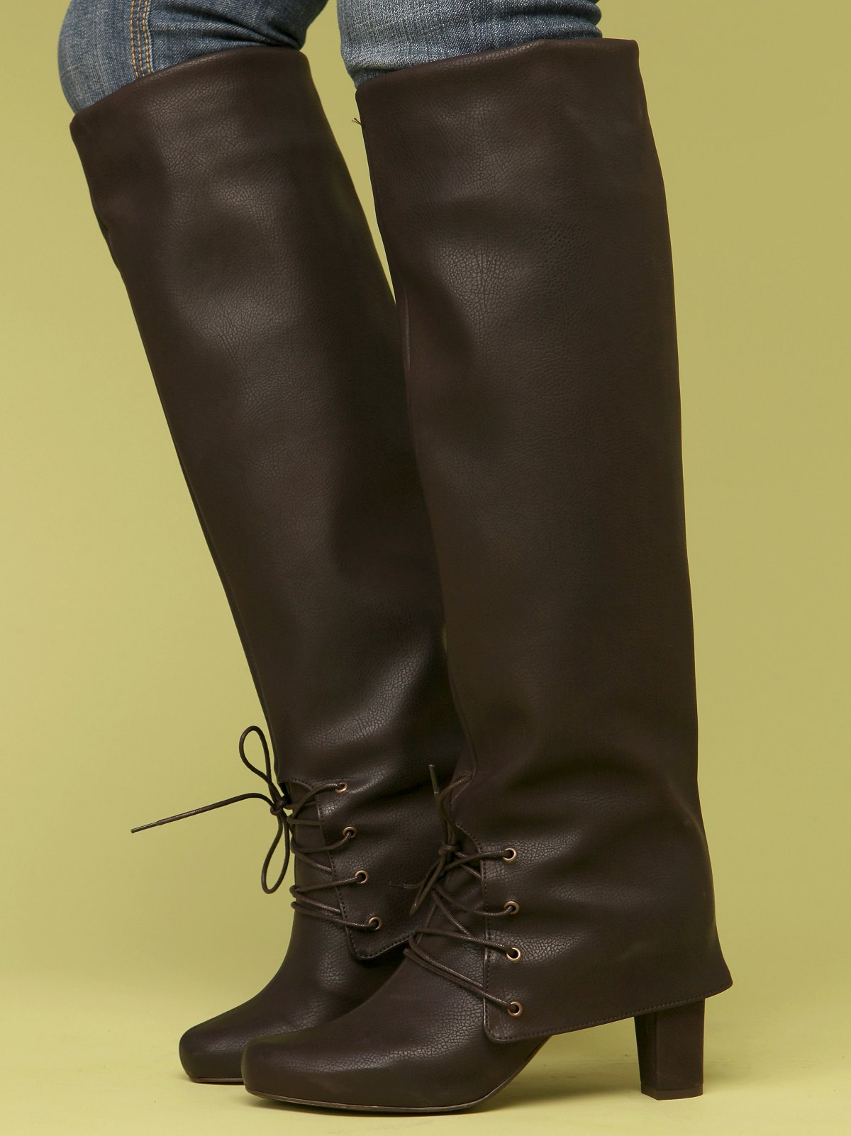 Stephanie Fold Down Boot