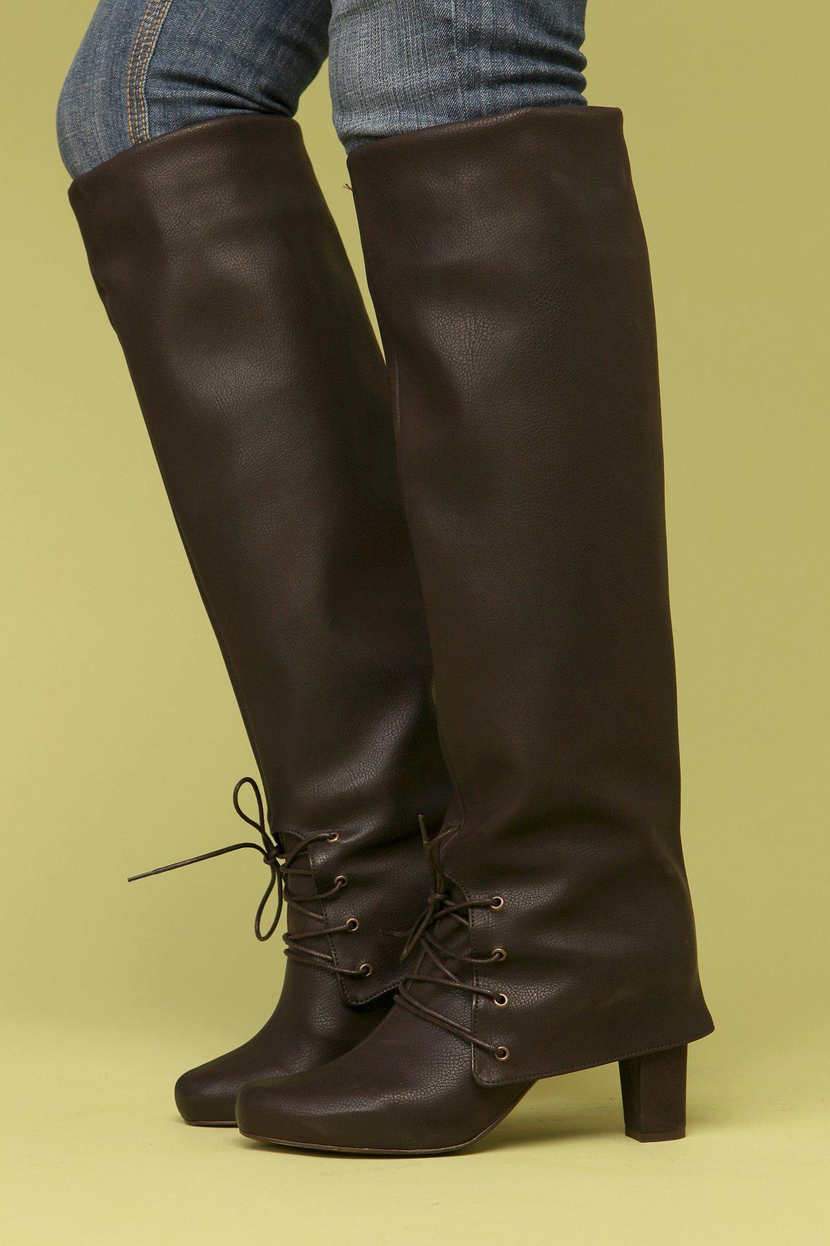 Stephanie Fold Down Boot