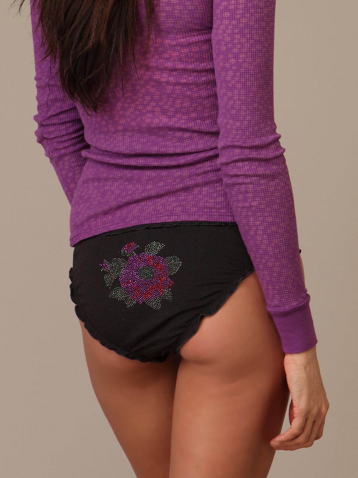 Floral Stud Panty