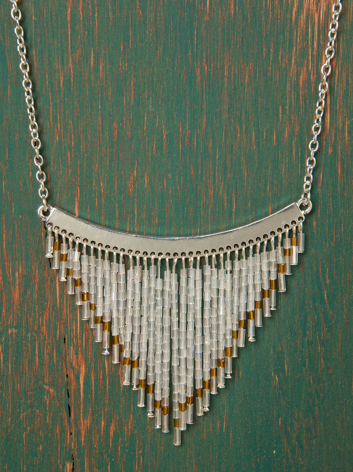 Beaded Flute Necklace