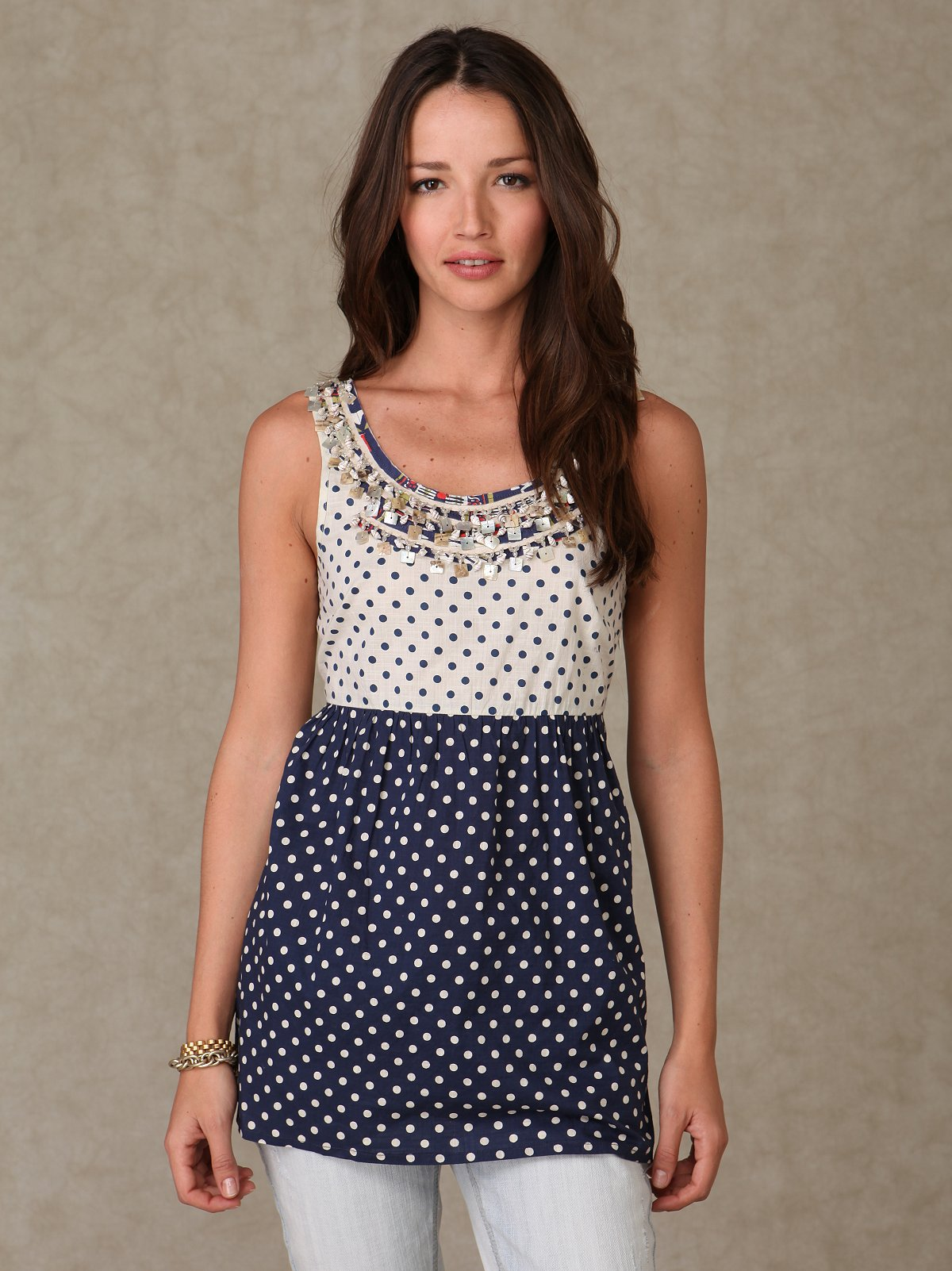 Dotted Shifter Tunic