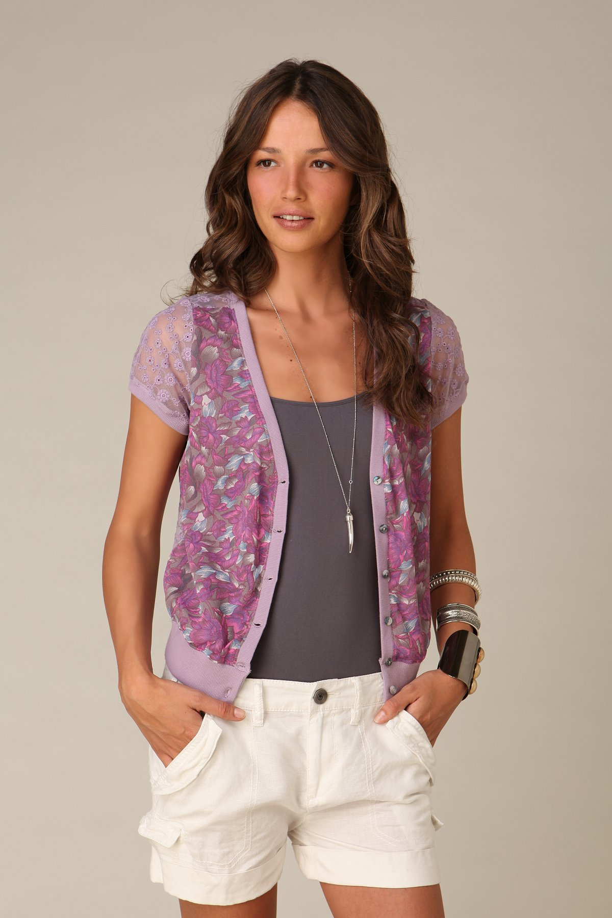 Lacey Back Cardigan