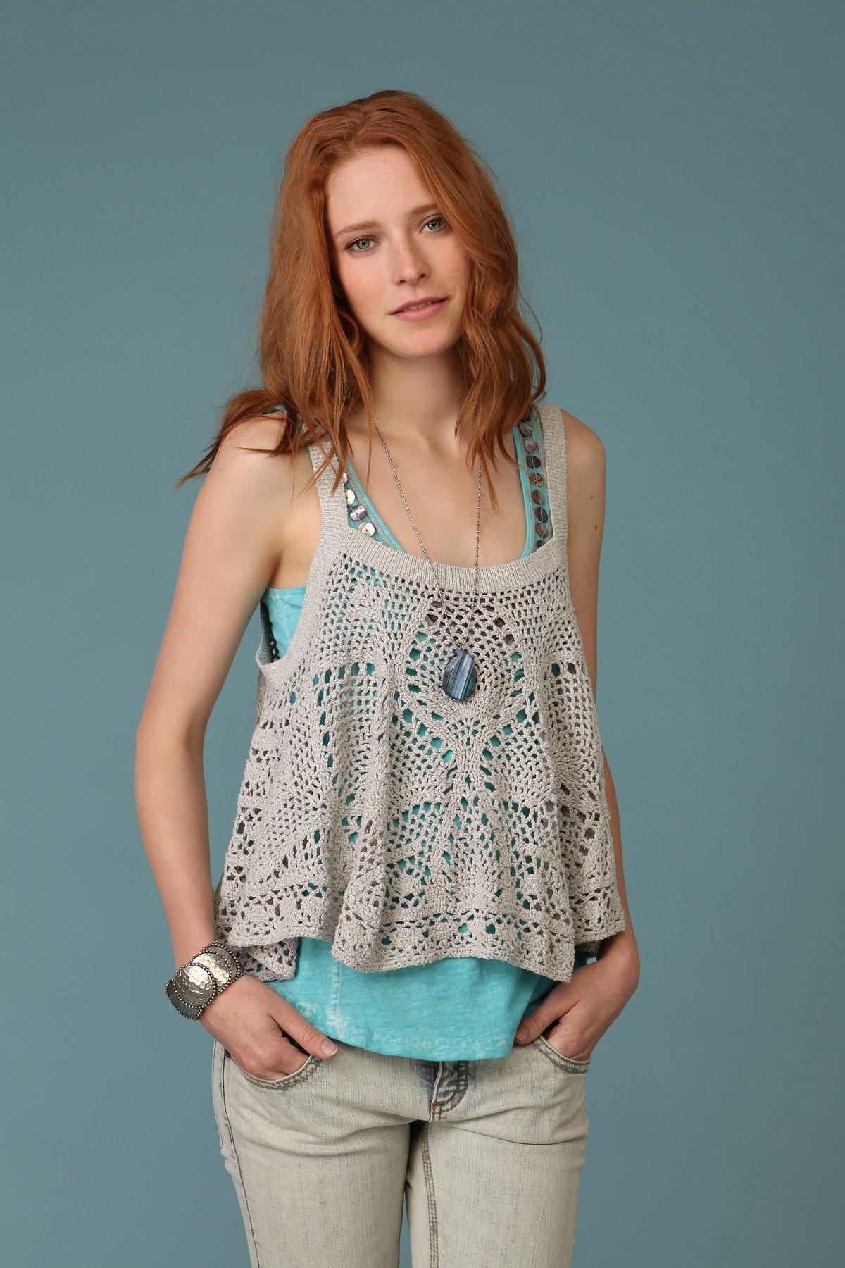 Carefree Crochet Cami