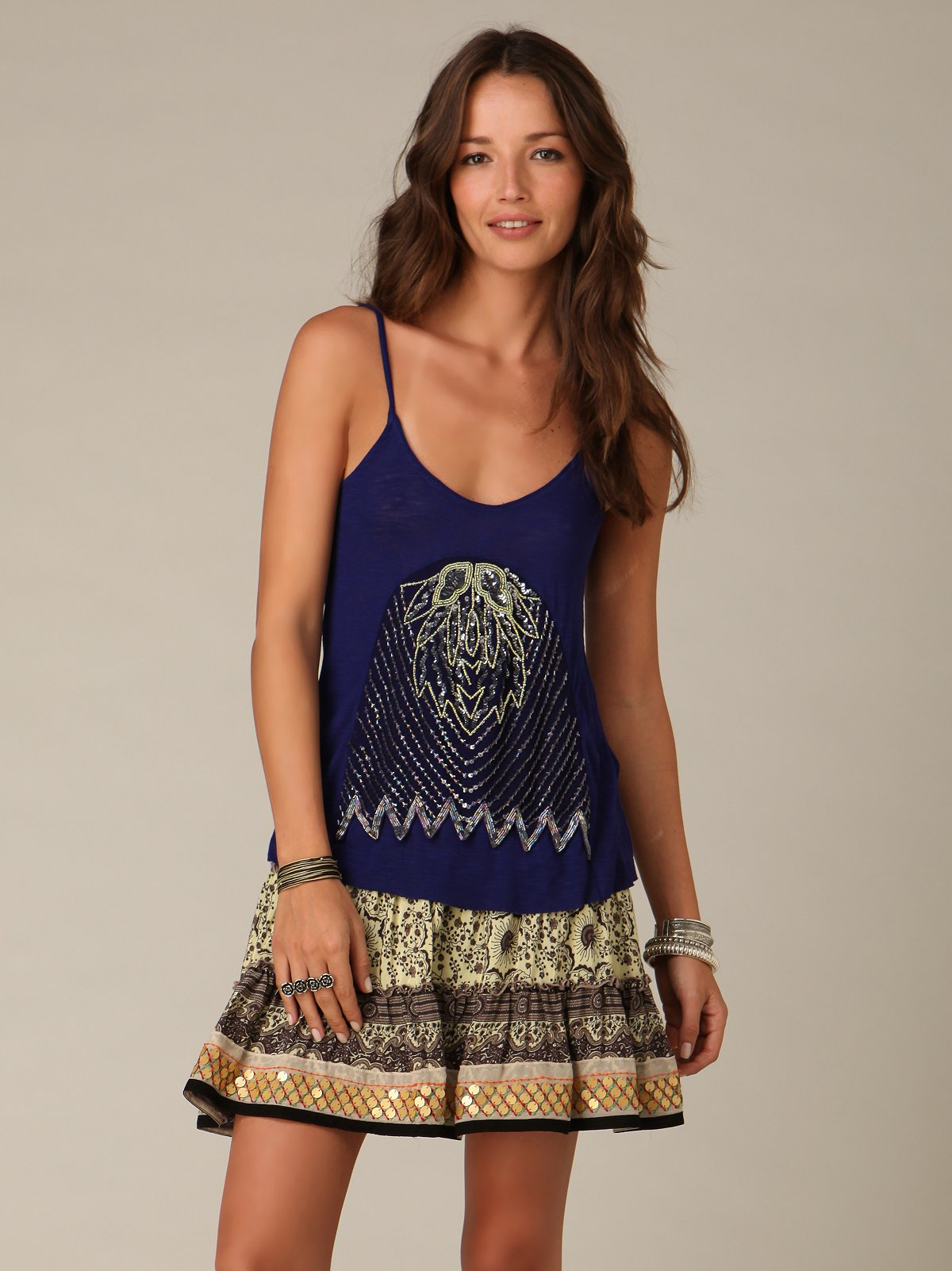 Caravan Flared Skirt