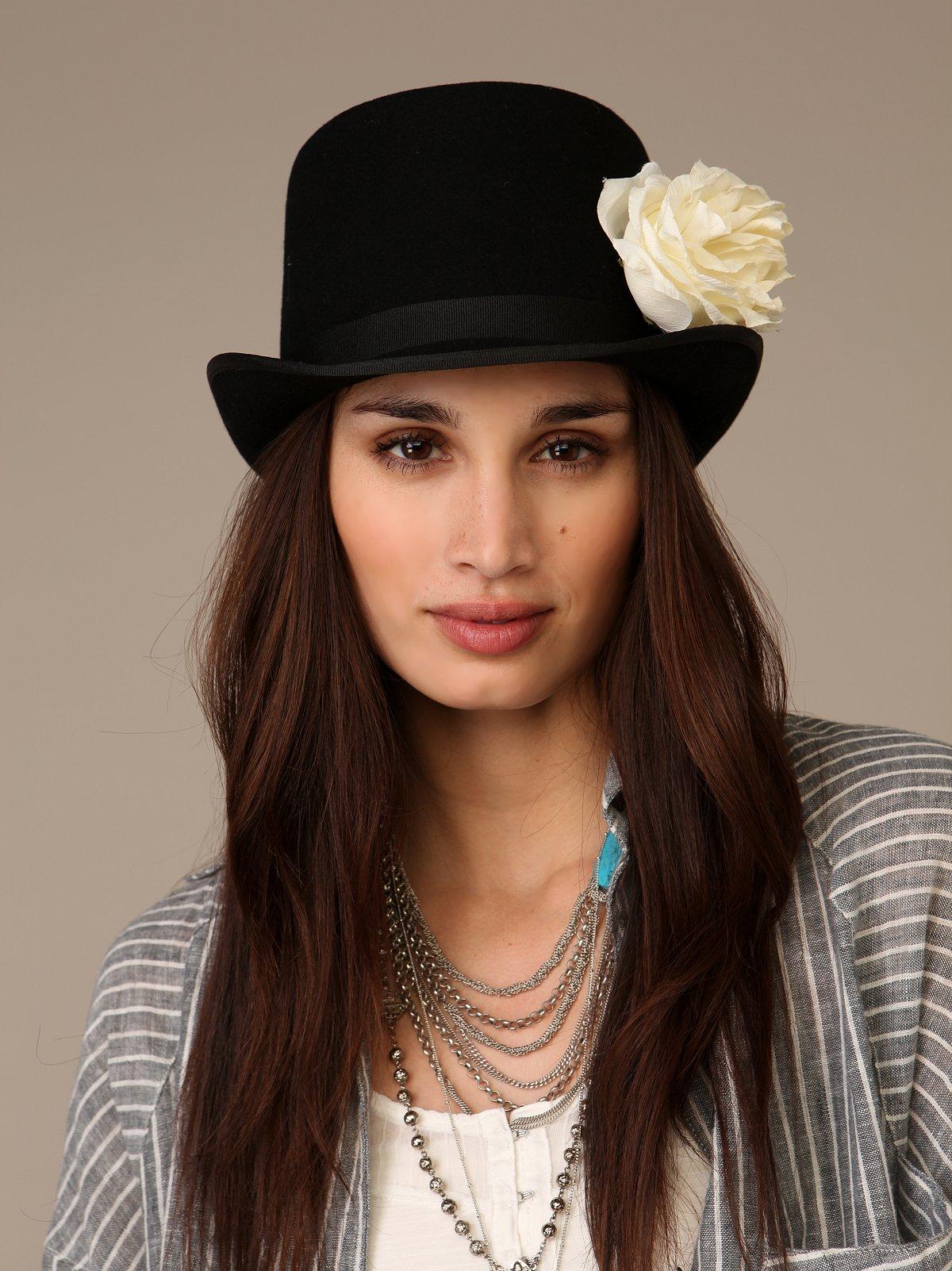 Flower Topper Hat