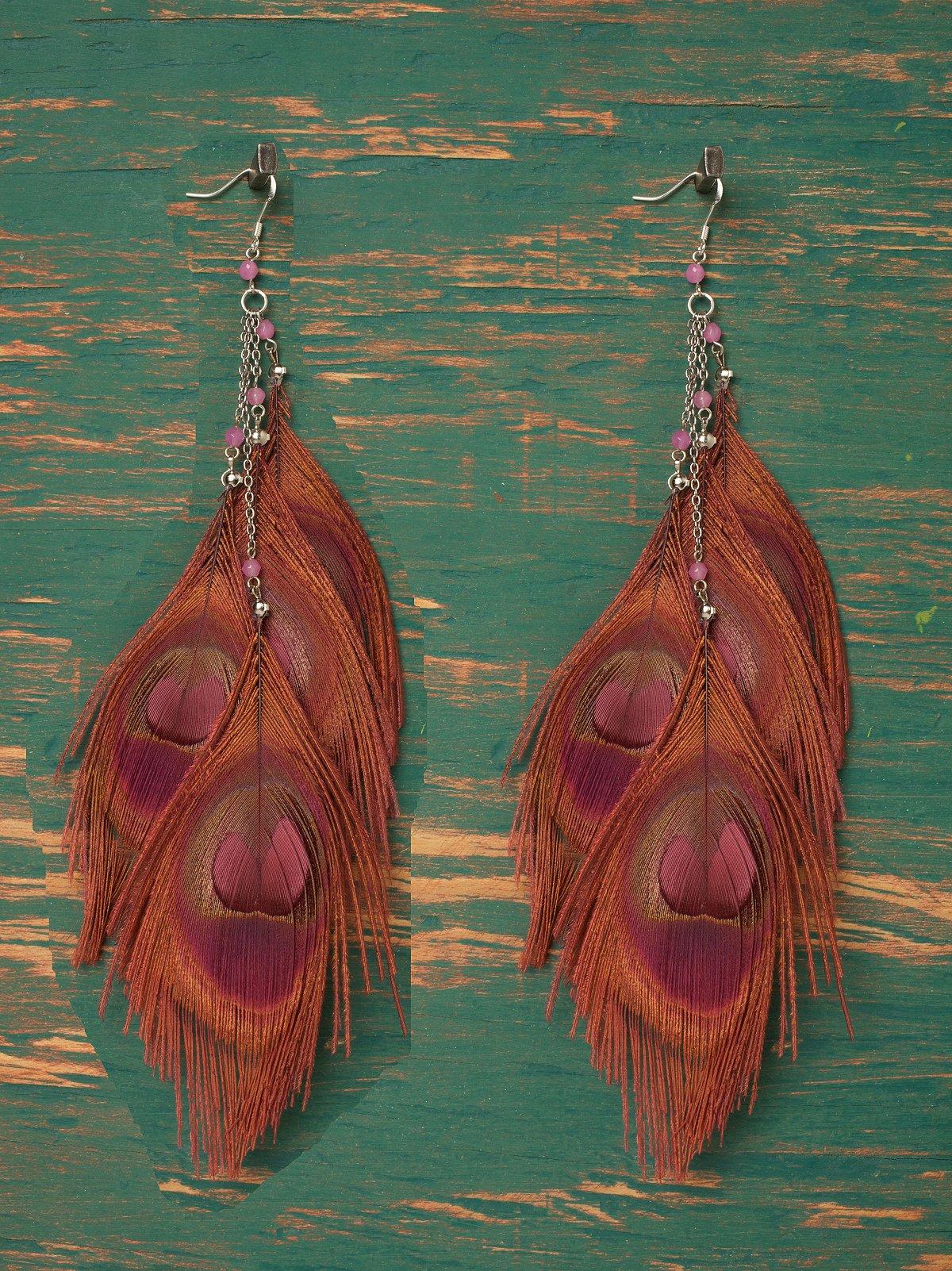 Woodstock Dangle Earring