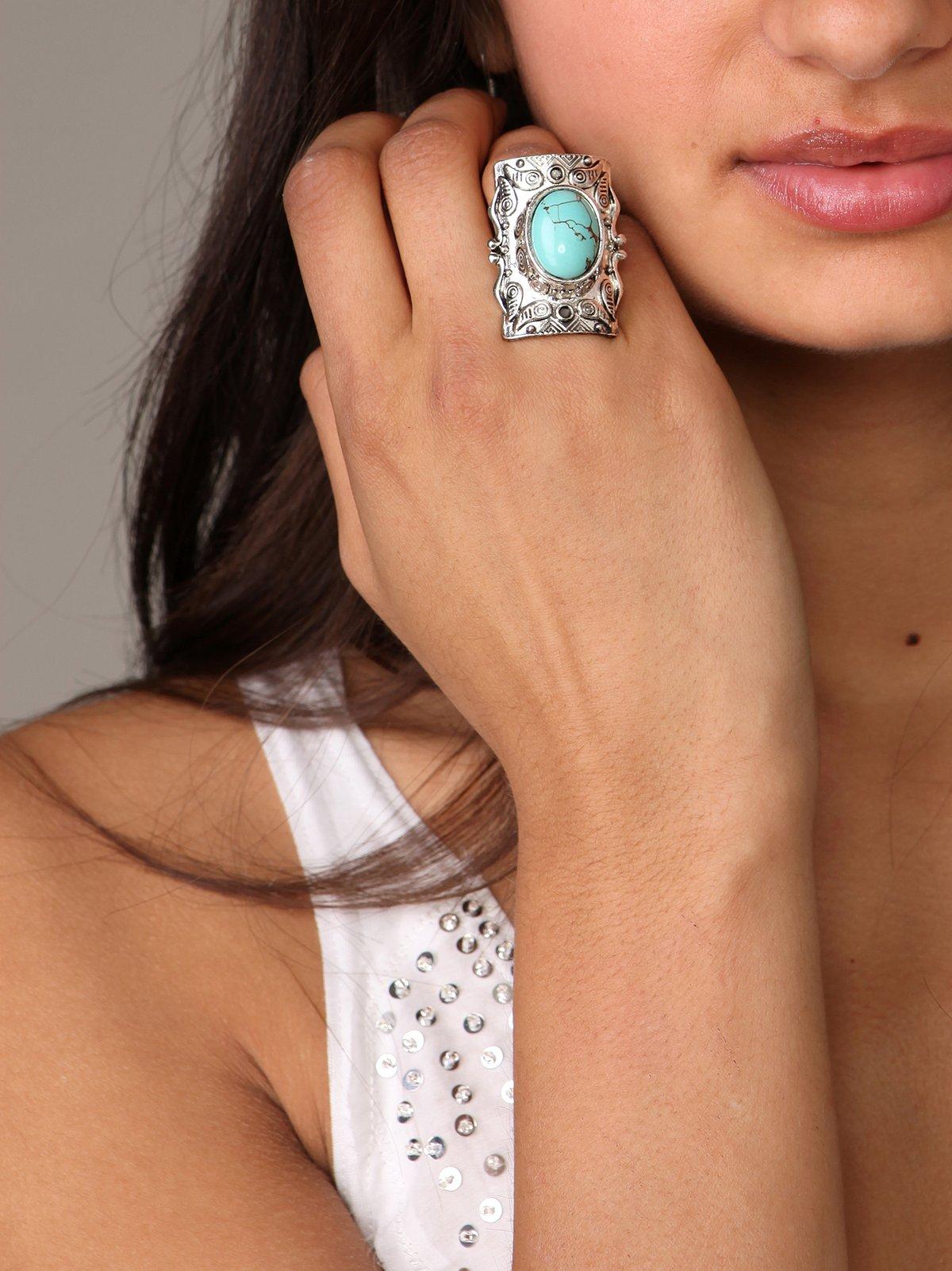 Inca Stone Ring