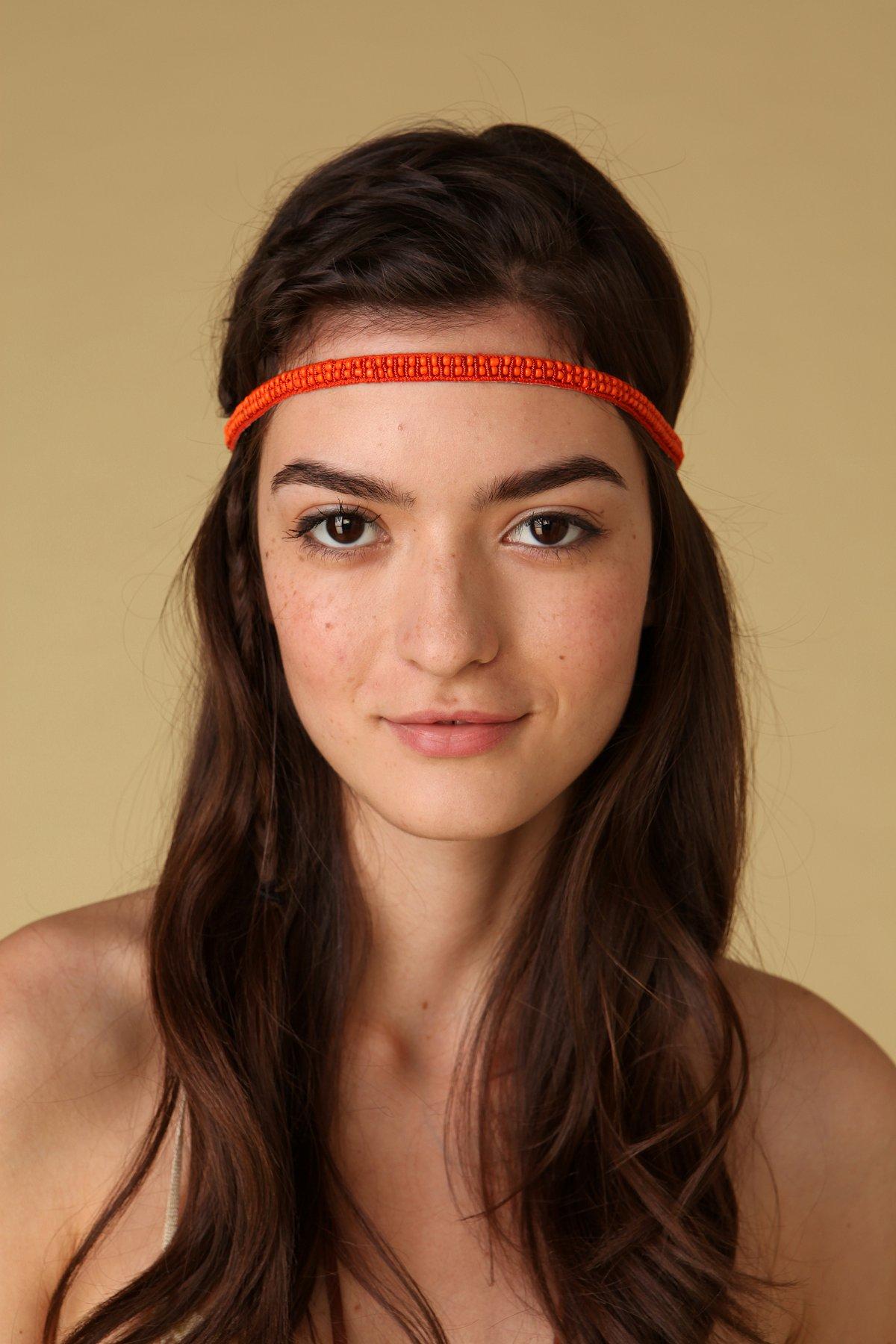 Double Row Beaded Headband