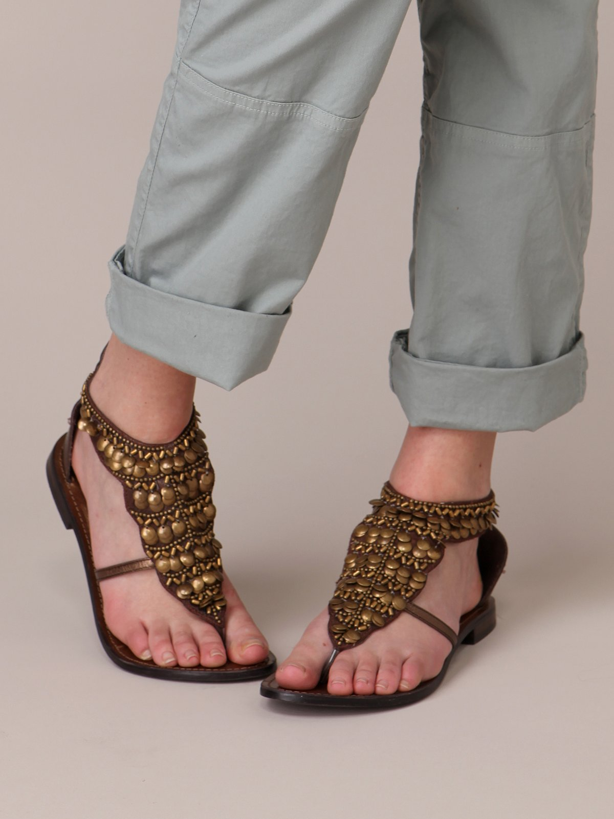 Coin Sandal