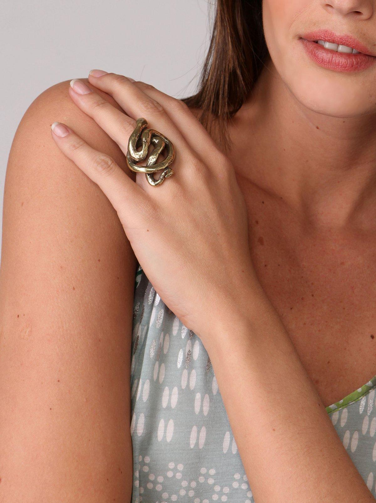 Jessica Seaton Snake Charmer Ring