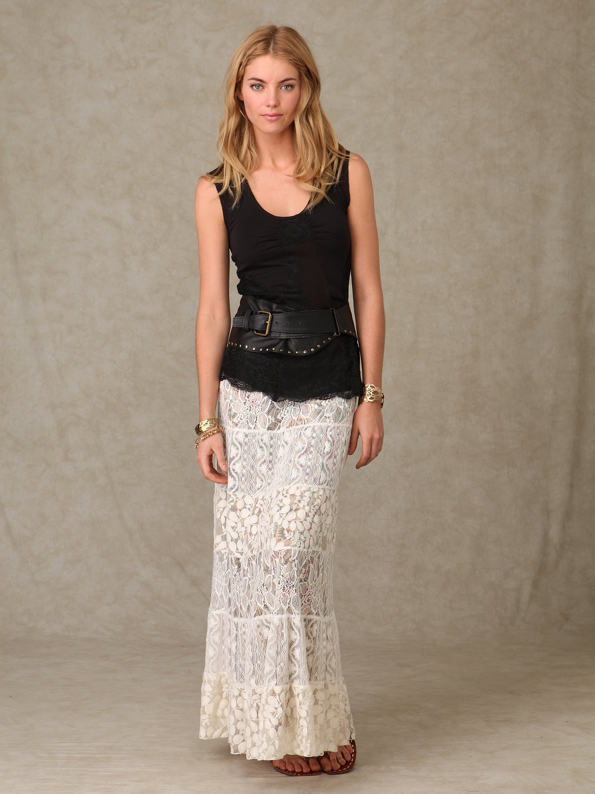 Lace Embrace Skirt