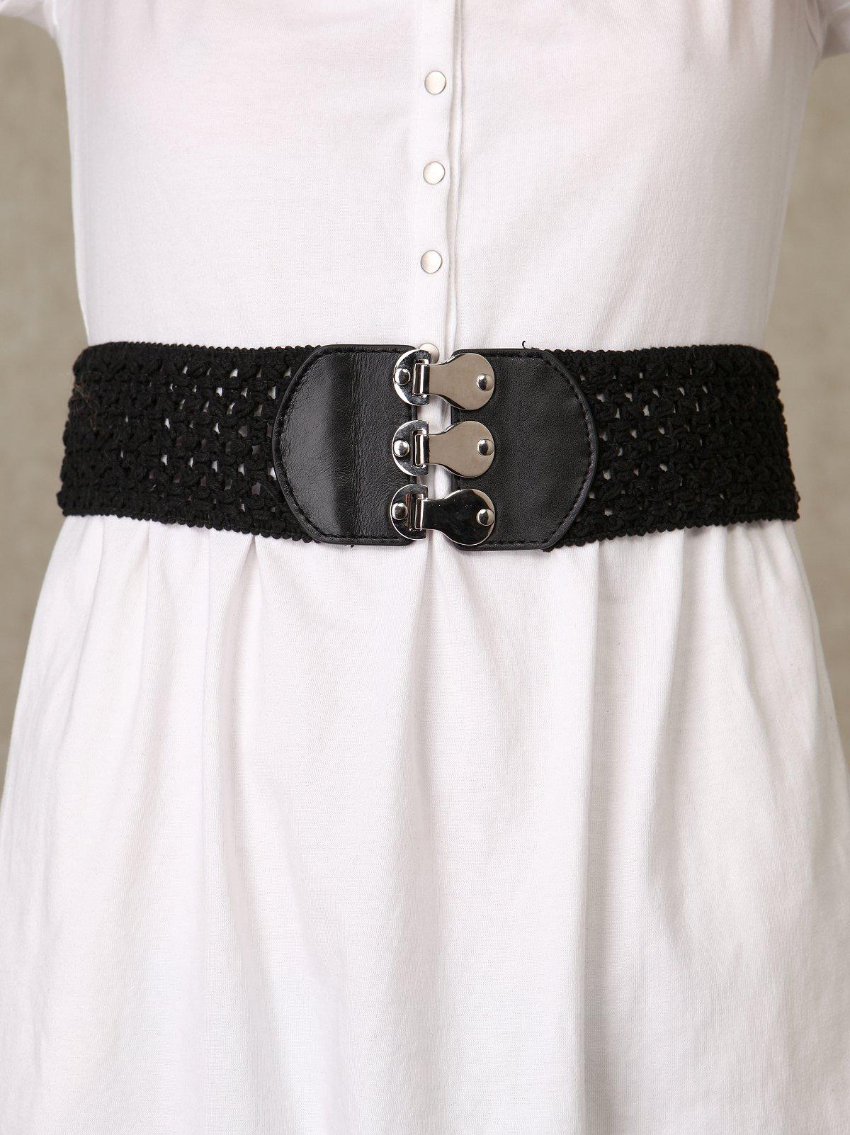 Crochet Waist Belt