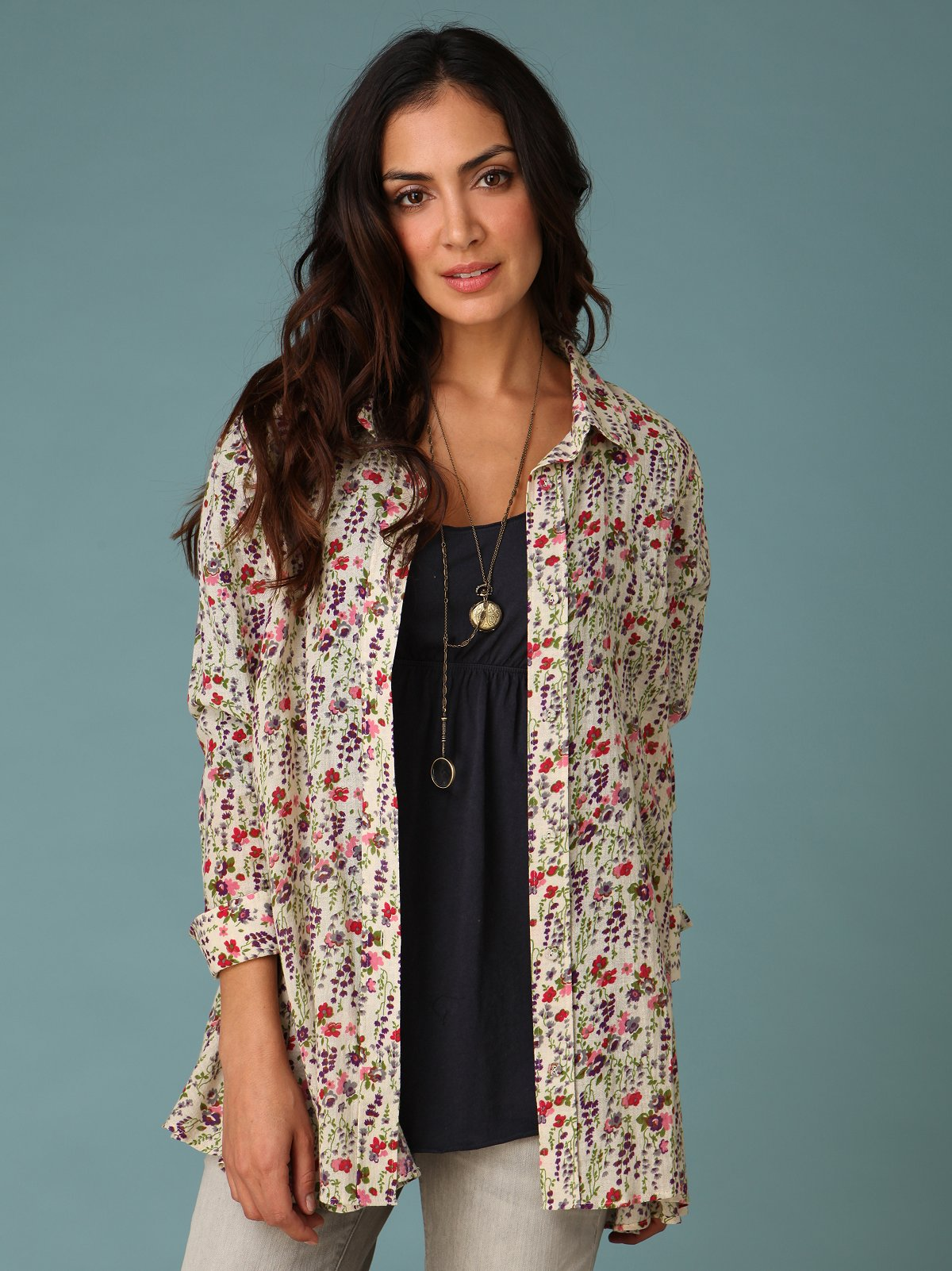 Merrie's Buttondown Tunic