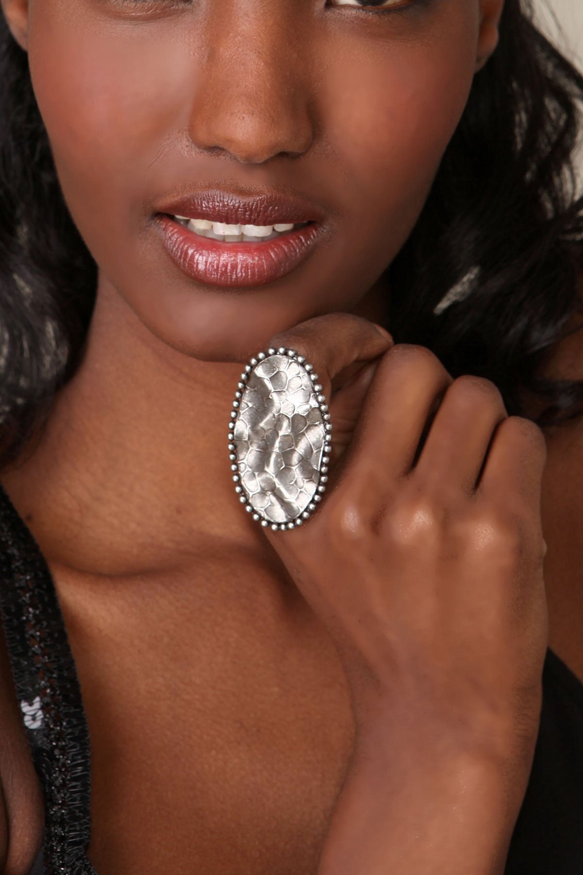 Pressed Oval Ring