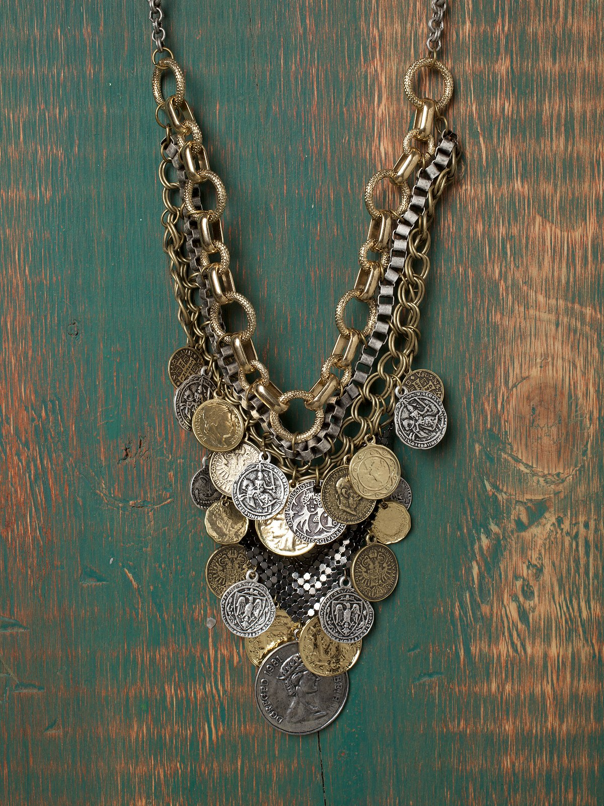 Treasure Bib Necklace