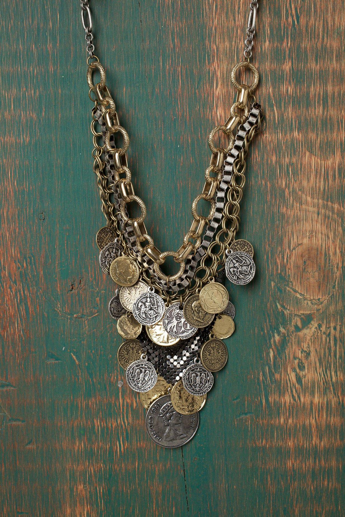 Treasure Bib Necklace