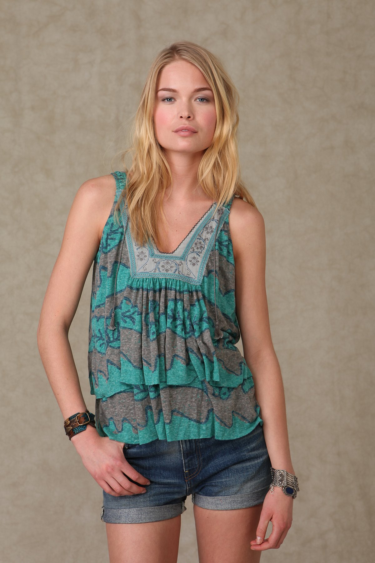 New Moon Trapeze Top